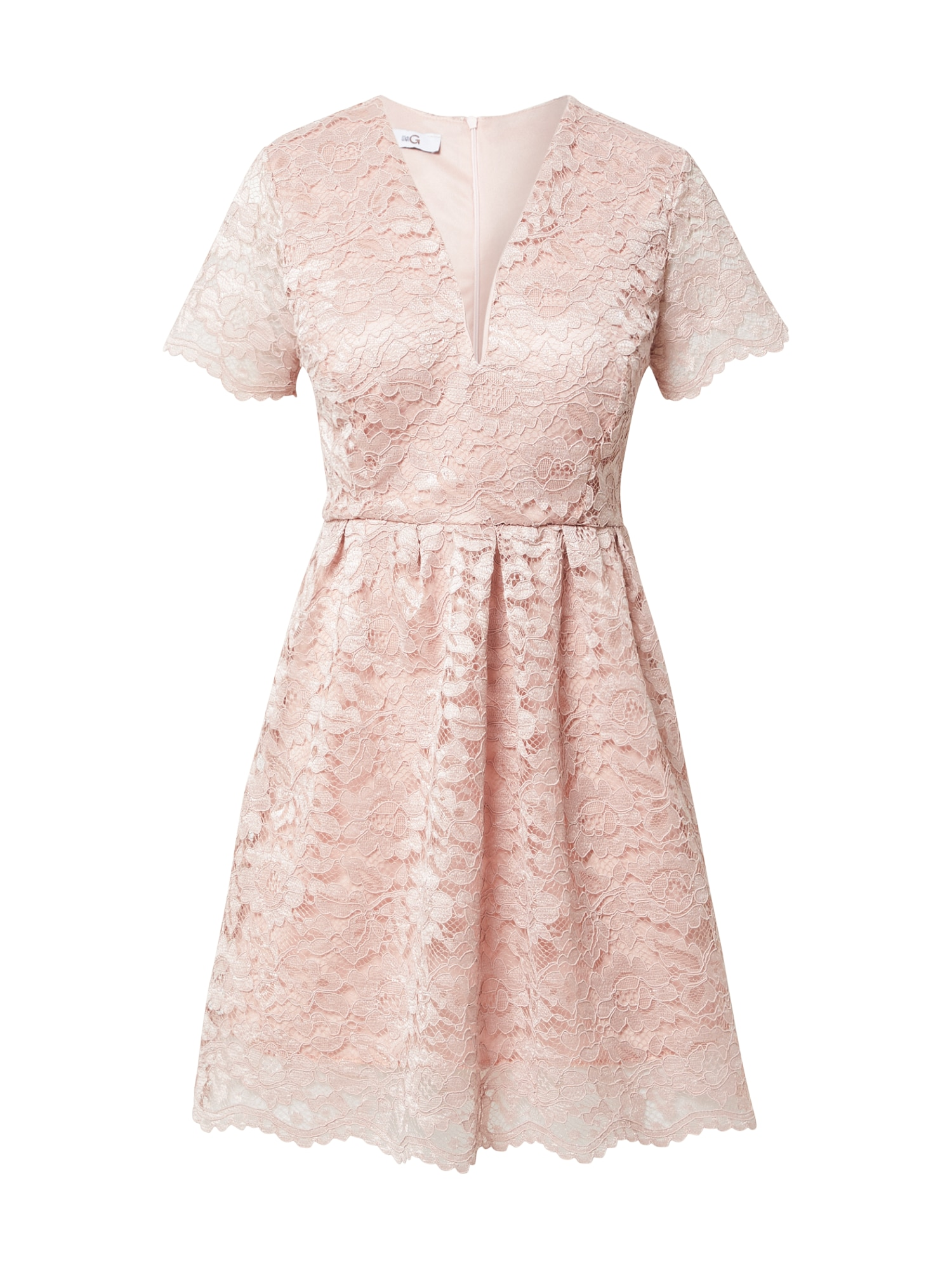WAL G. Kokteilinė suknelė rožių spalva
