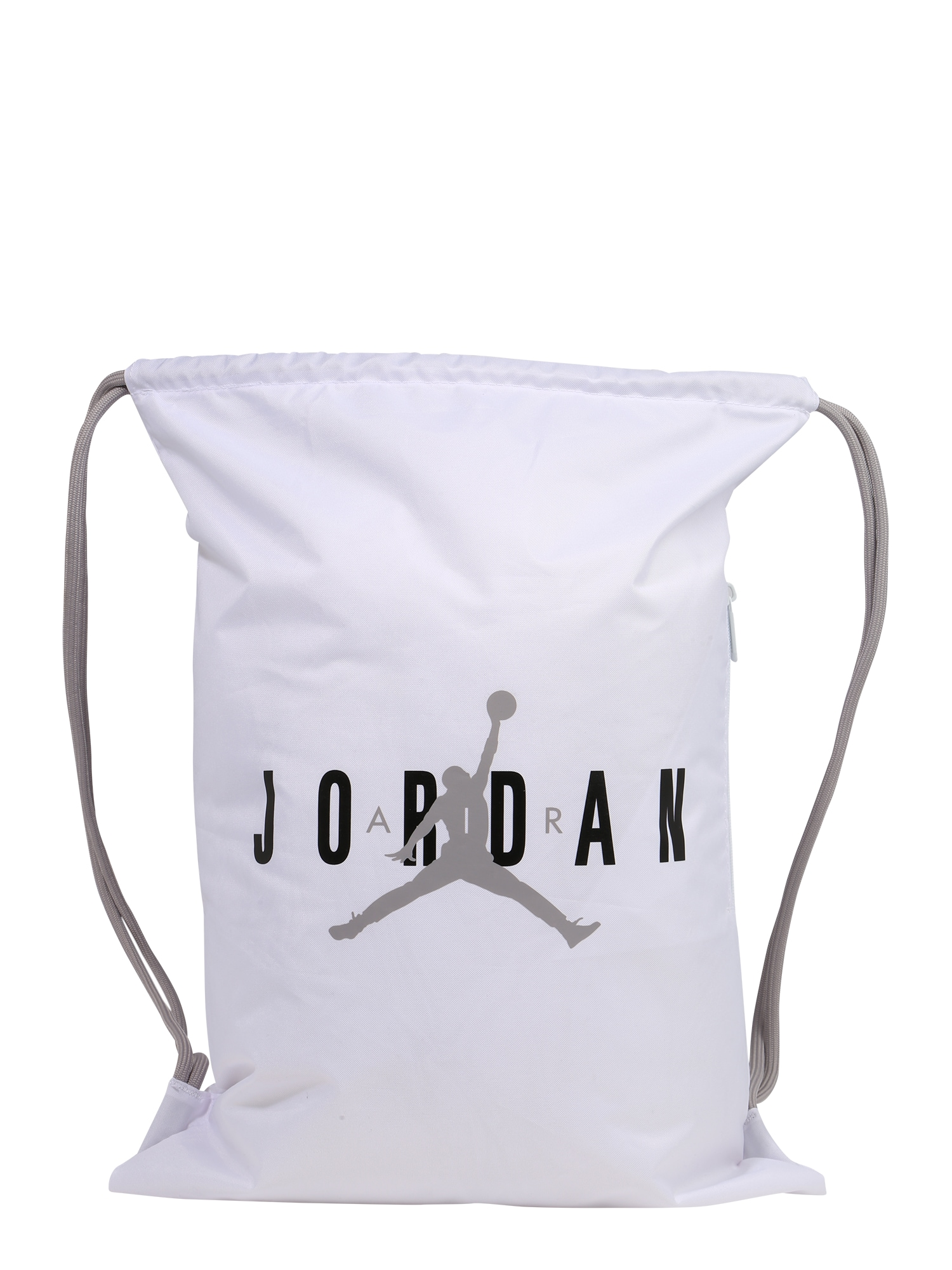 Jordan Sportinis krepšys 'JAN' balta / juoda / pilka