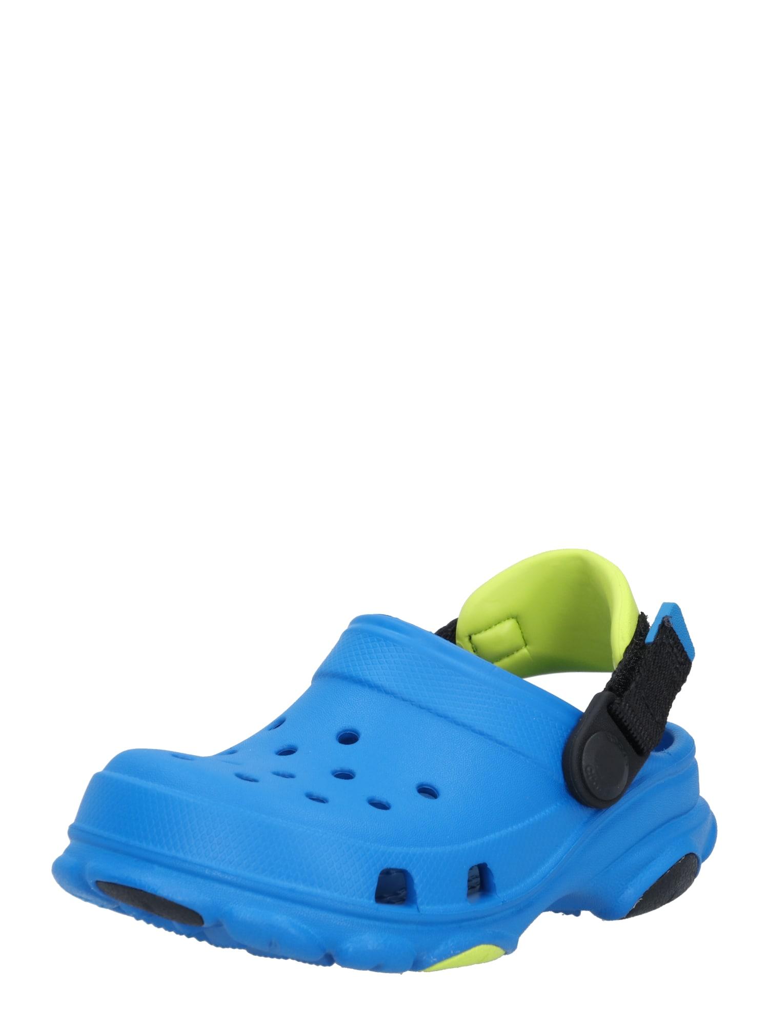 Crocs Atviri batai mėlyna / juoda