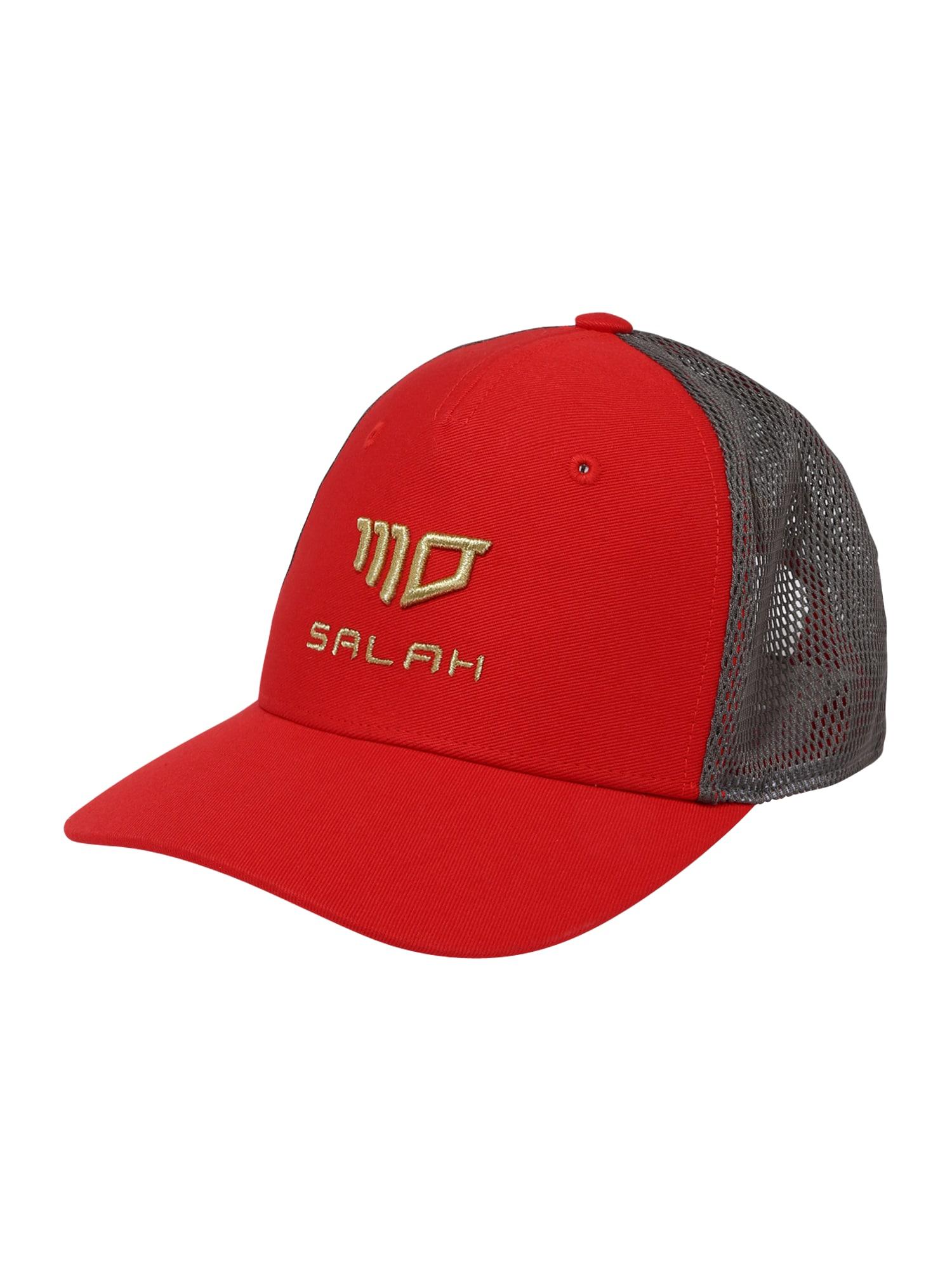 ADIDAS PERFORMANCE Sportinė kepurė šviesiai raudona / dūmų pilka / aukso geltonumo spalva