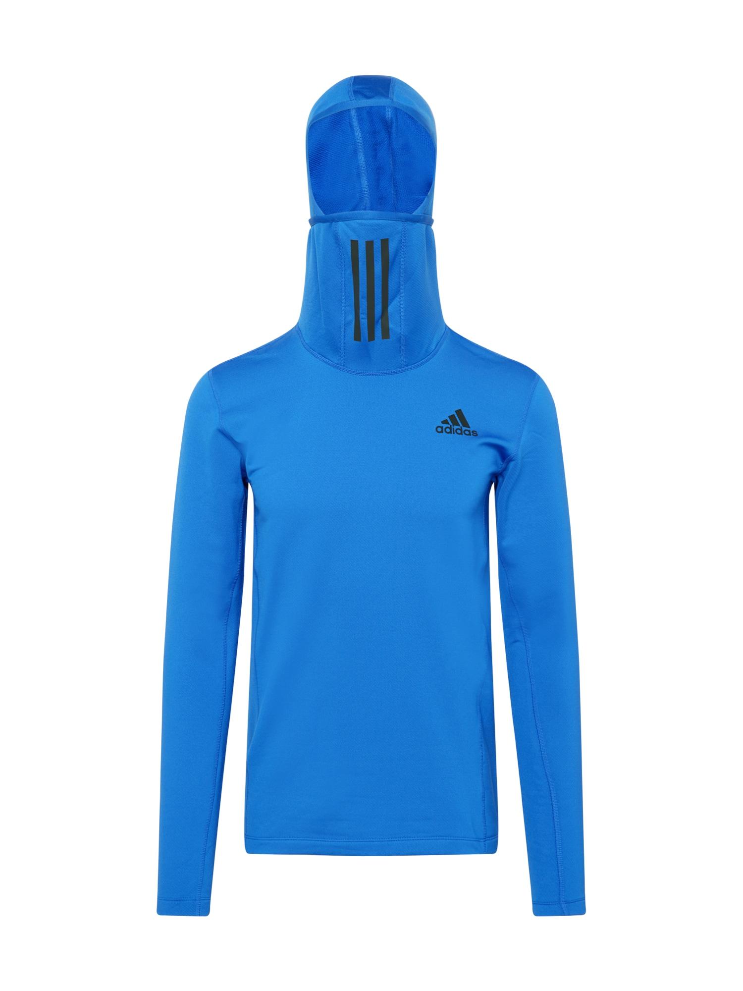 ADIDAS PERFORMANCE Funkční tričko  modrá / černá