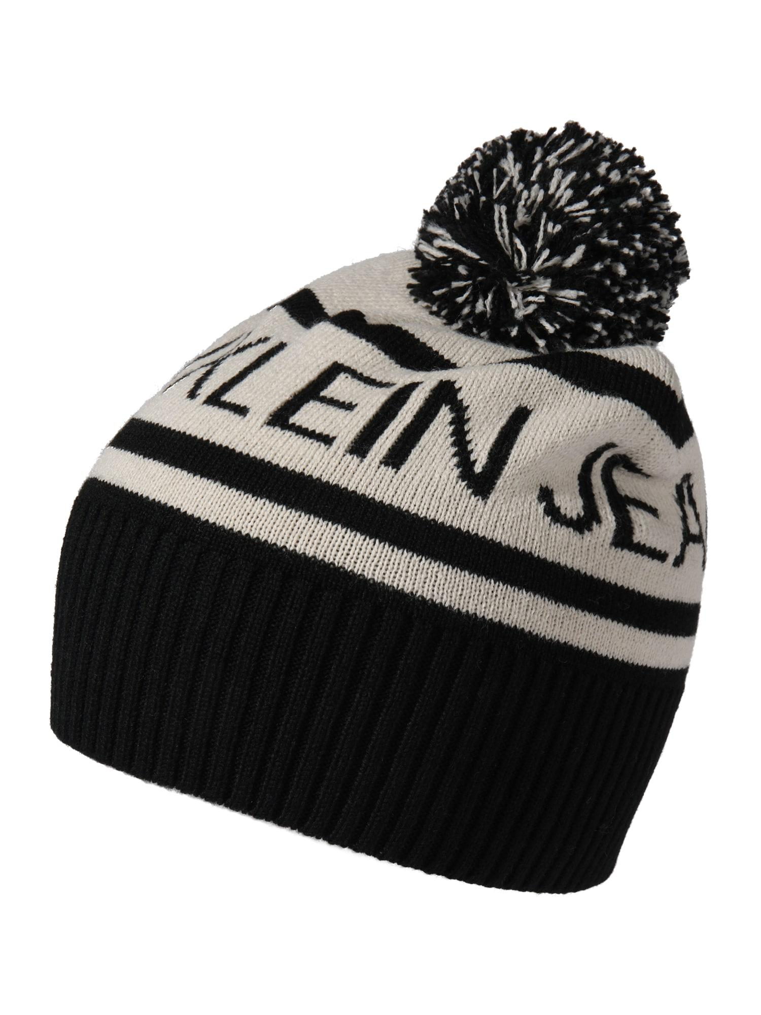 Calvin Klein Jeans Čepice  černá / šedá