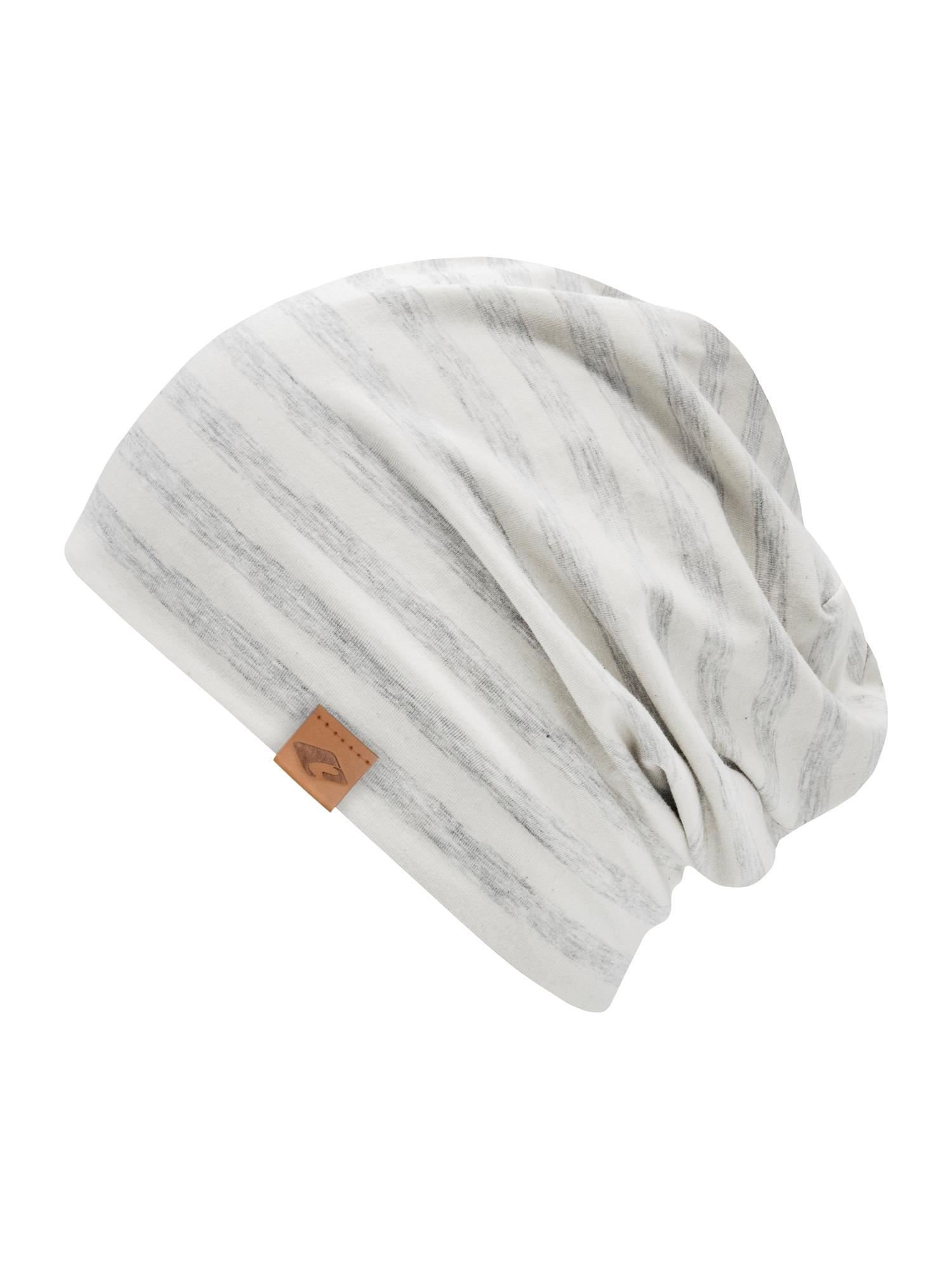 chillouts Megzta kepurė pilka / balta