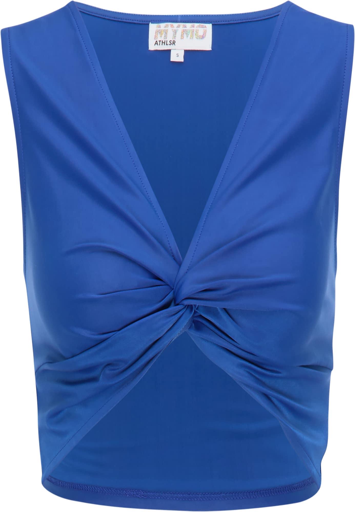 """myMo ATHLSR Sportiniai marškinėliai be rankovių sodri mėlyna (""""karališka"""")"""
