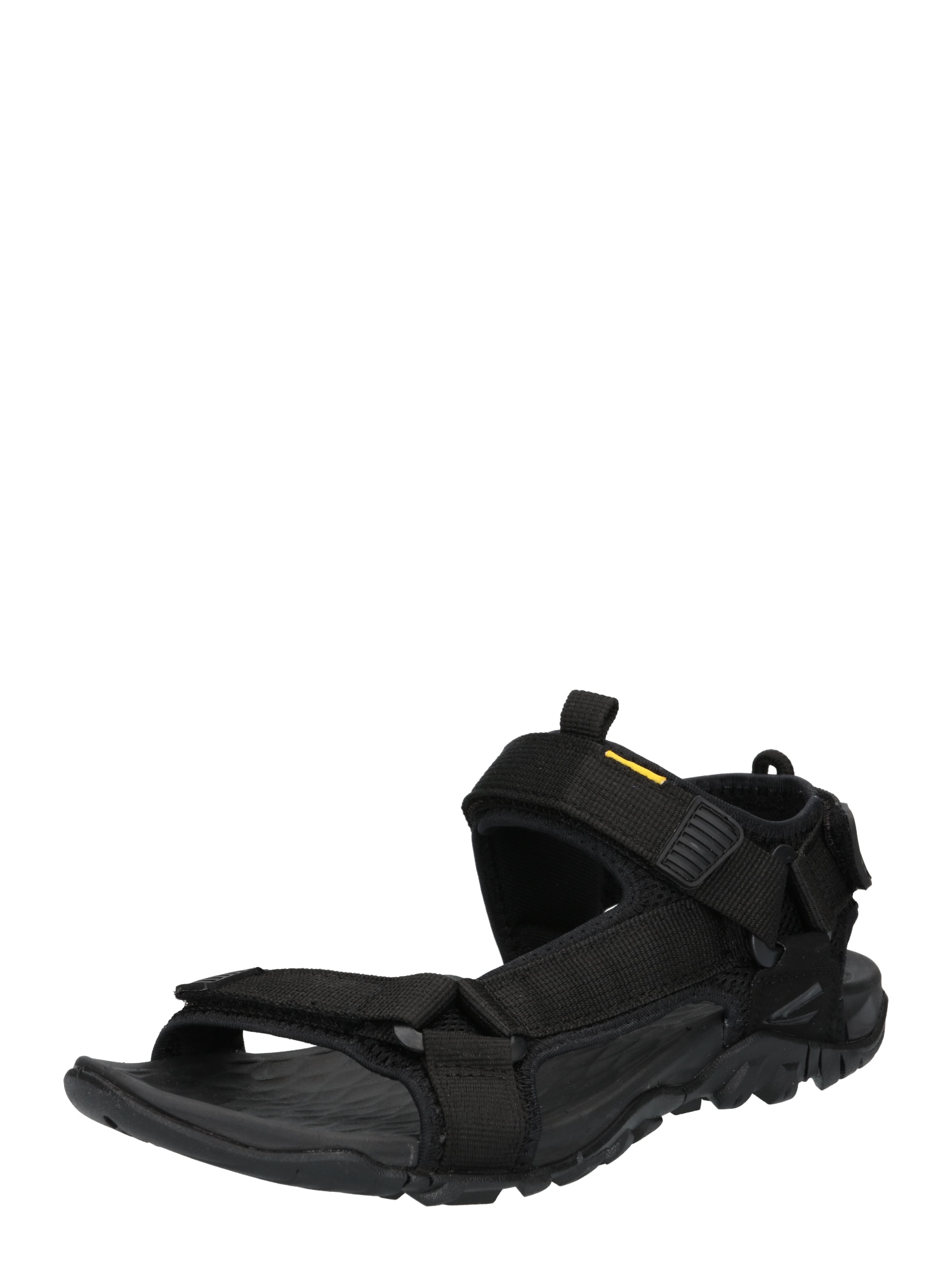 CAMEL ACTIVE Sportinio tipo sandalai juoda / geltona