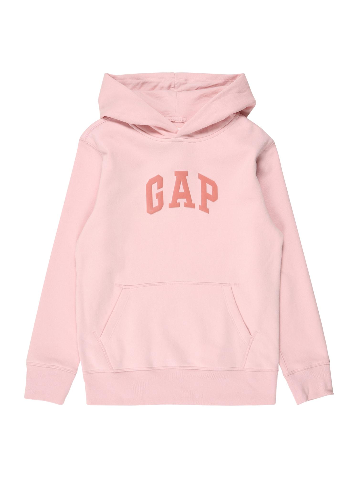 GAP Megztinis be užsegimo rožinė / pitajų spalva