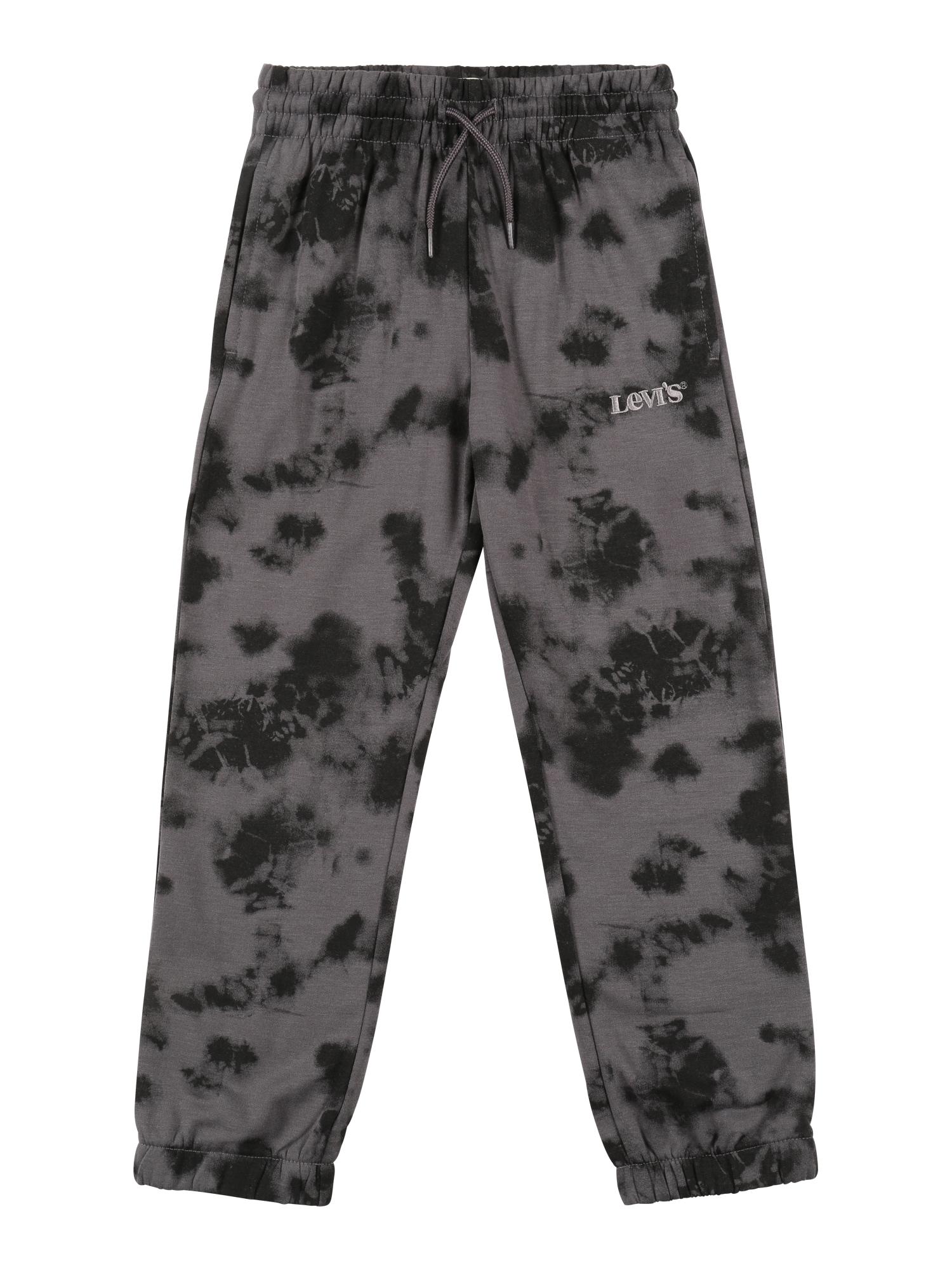 LEVI'S Kalhoty  grafitová / černá