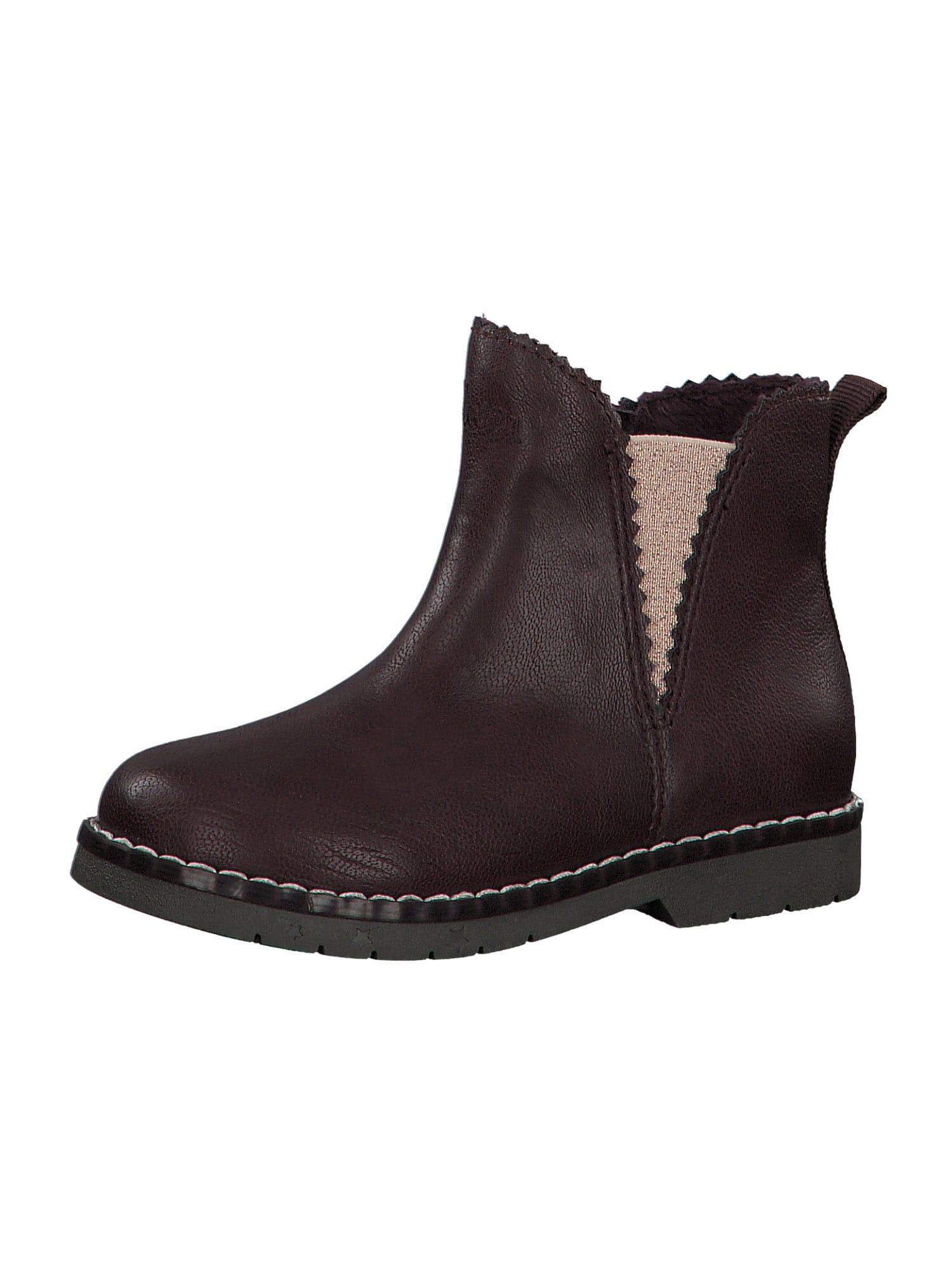 s.Oliver Auliniai batai su kulniuku tamsiai ruda