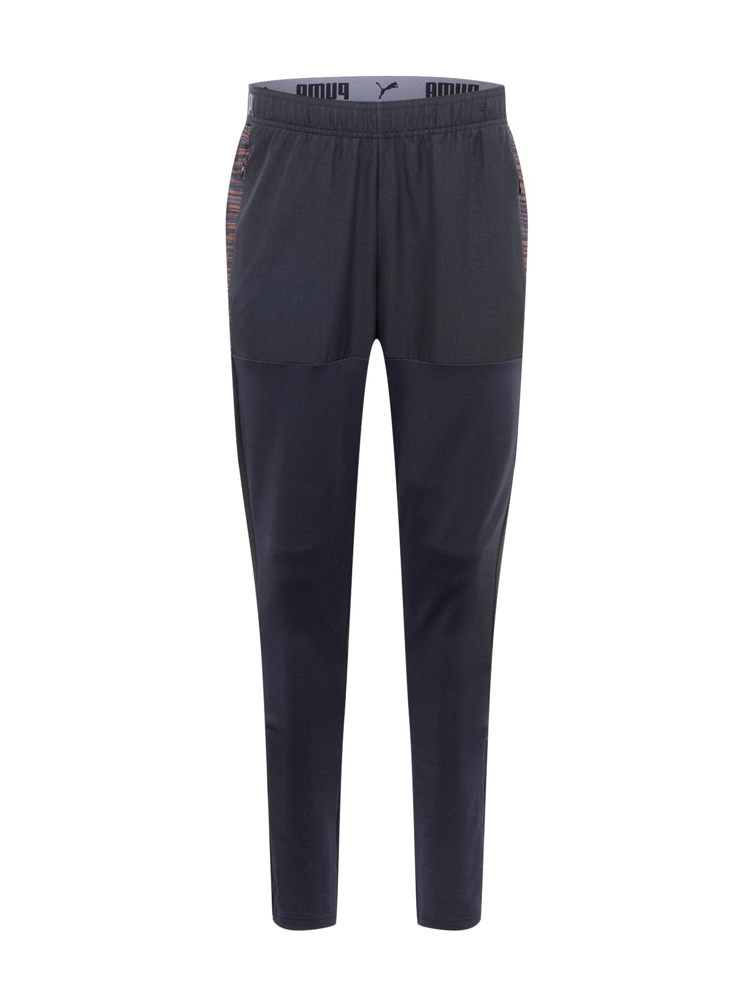 PUMA Sportovní kalhoty 'FtblNXT Pro'  oranžová / černá