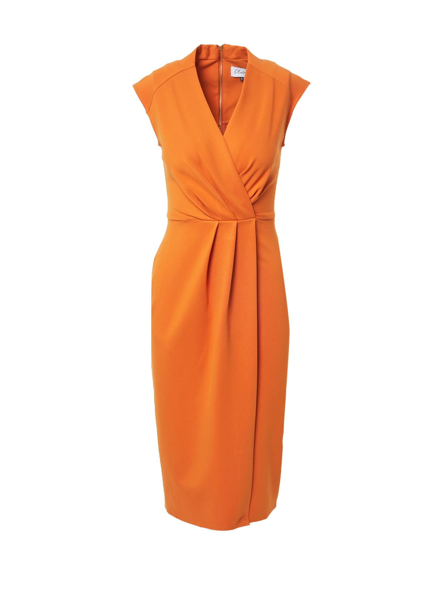 Closet London Suknelė garstyčių spalva