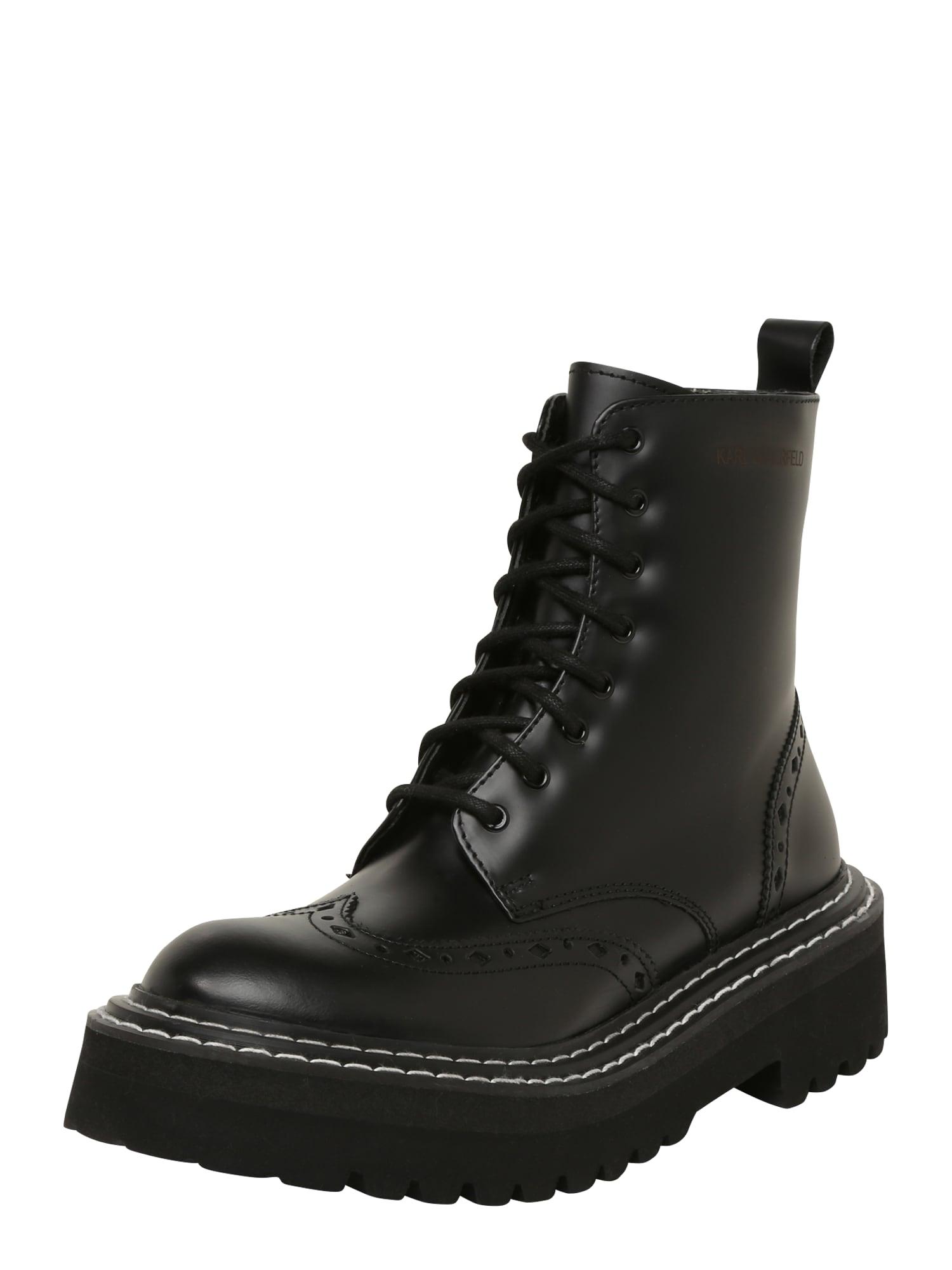 Karl Lagerfeld Suvarstomieji kulkšnis dengiantys batai