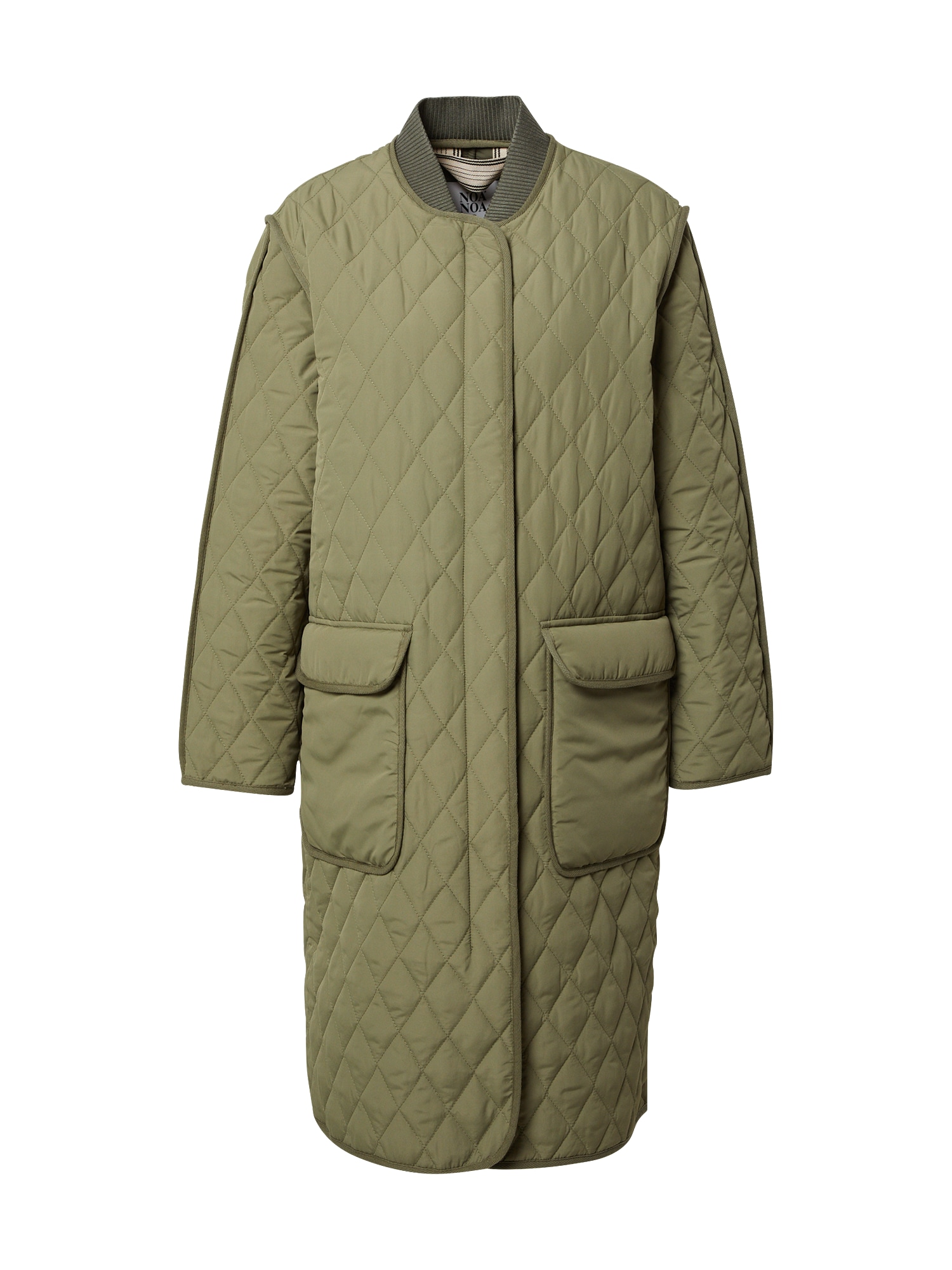 Noa Noa Demisezoninis paltas rusvai žalia