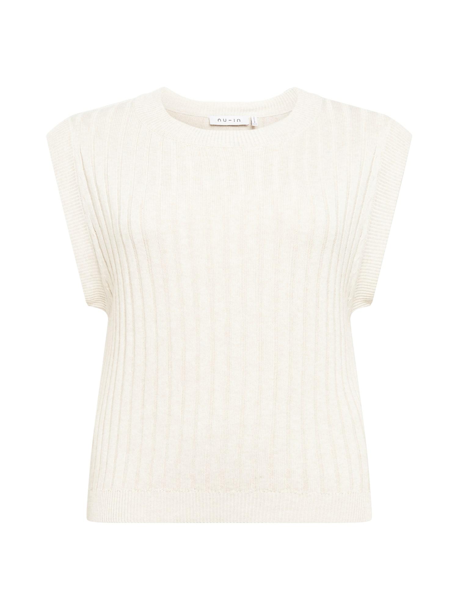 NU-IN Plus Megztinis balta