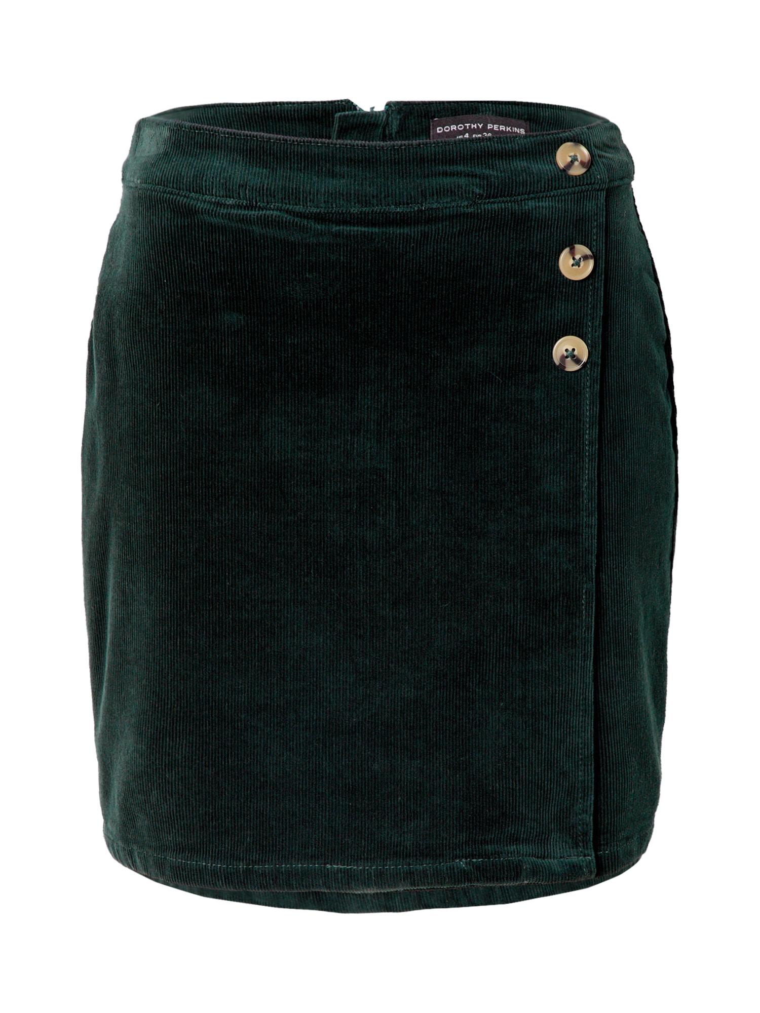 Dorothy Perkins Sijonas tamsiai žalia