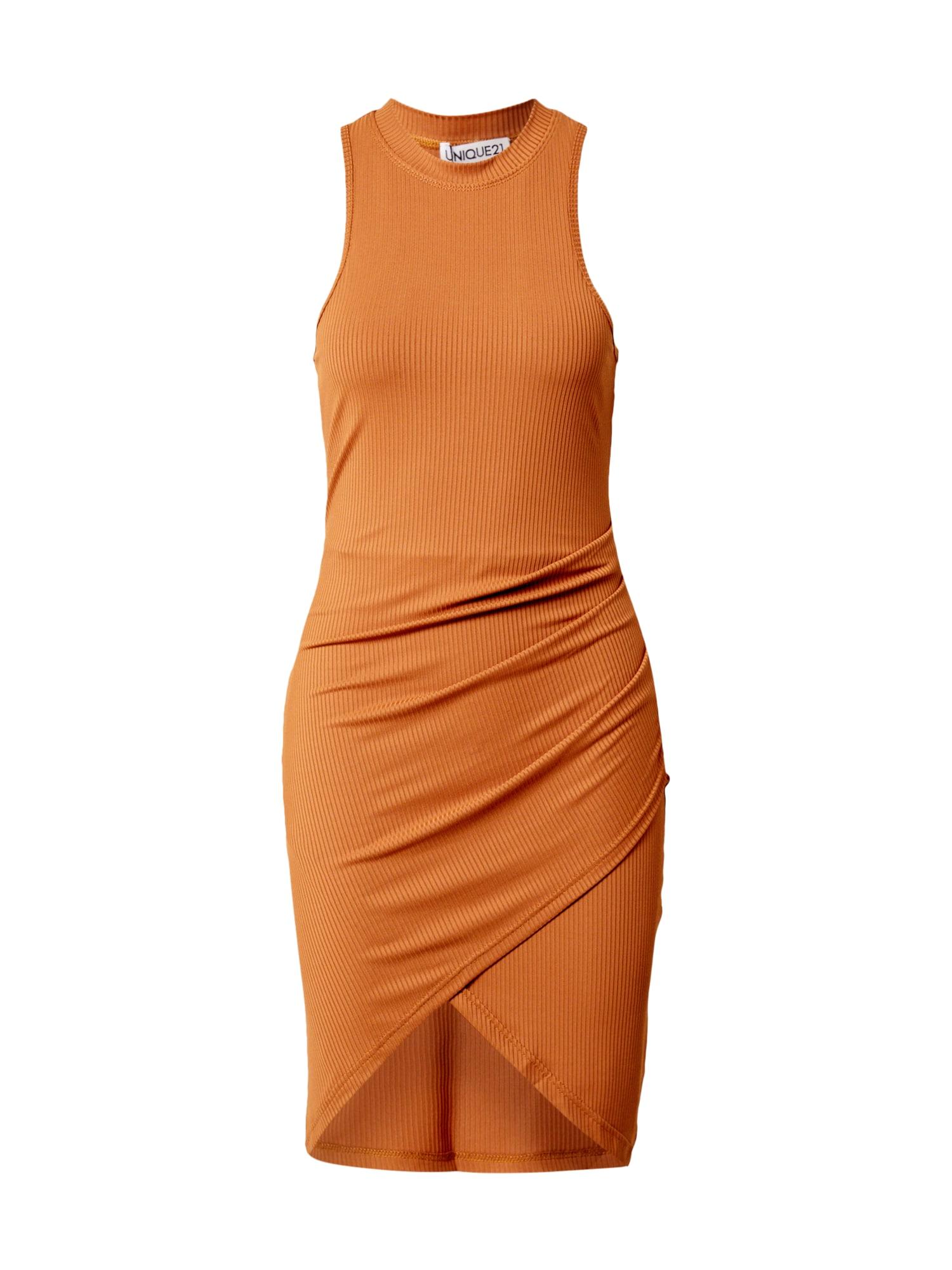 Unique21 Suknelė karamelės