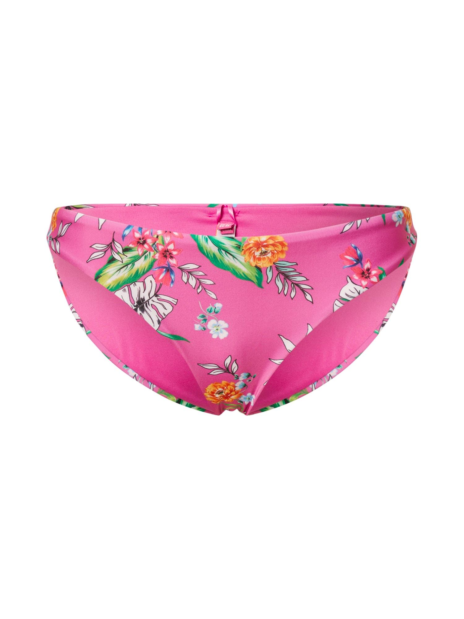 Superdry Bikinio kelnaitės mišrios spalvos / rožinė