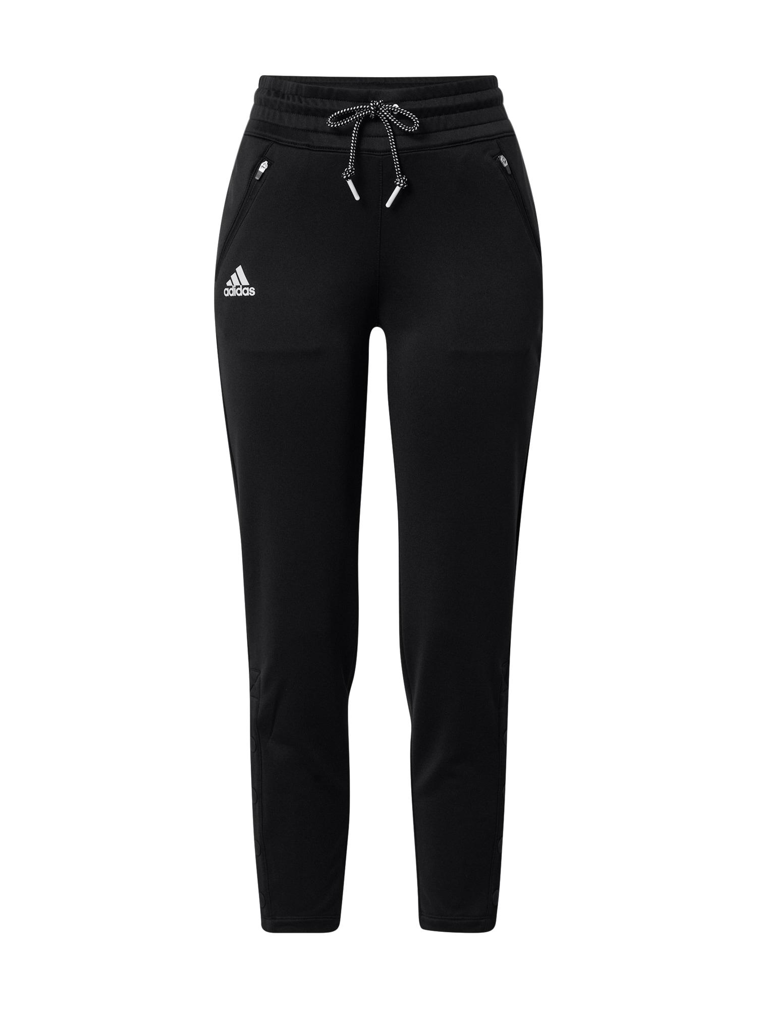 adidas Golf Sportovní kalhoty  černá