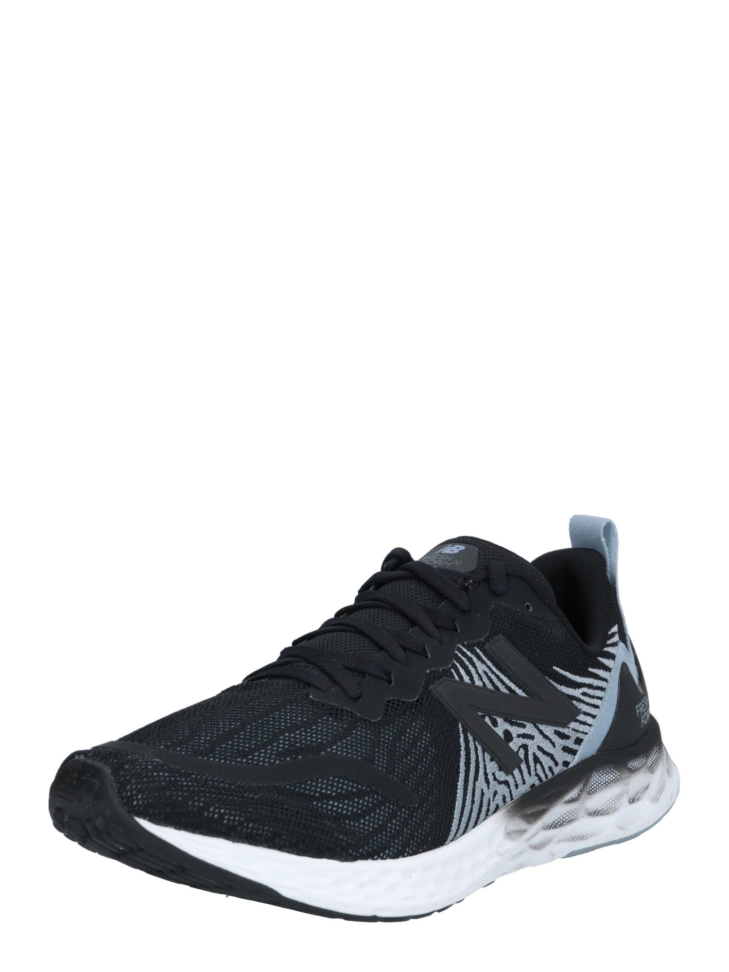 new balance Bėgimo batai juoda / šviesiai pilka / azuro