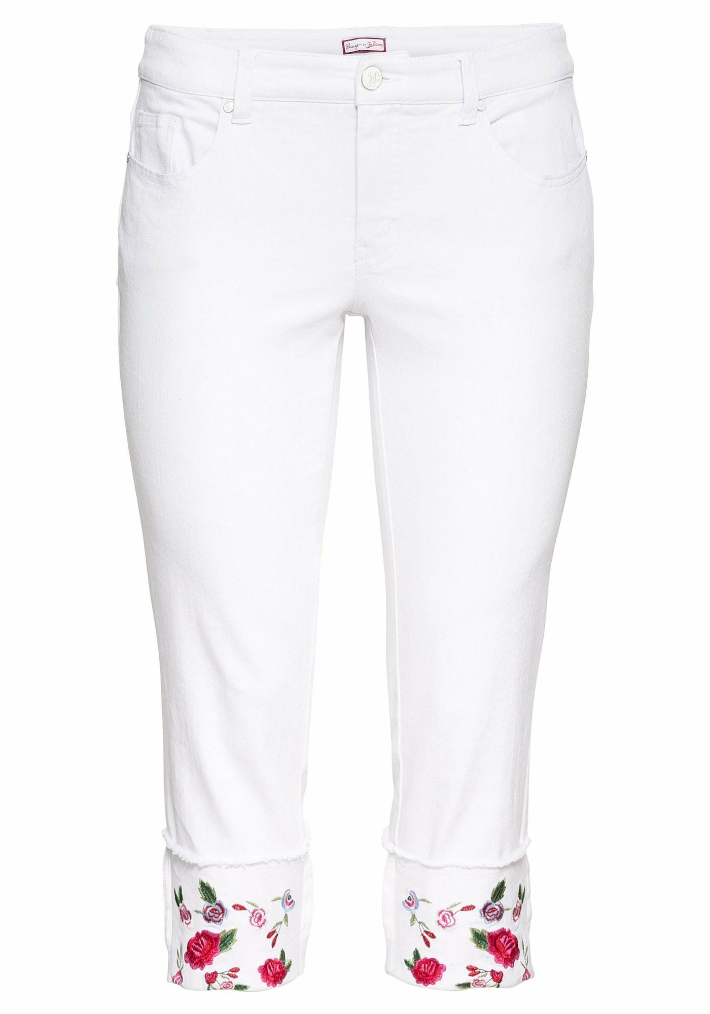 SHEEGO Džinsai balto džinso spalva / mišrios spalvos