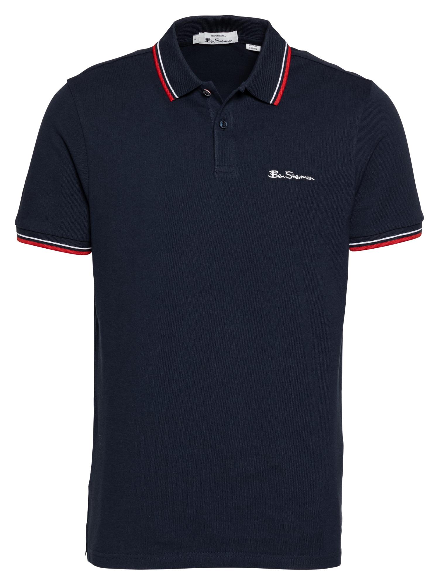 Ben Sherman Marškinėliai tamsiai mėlyna