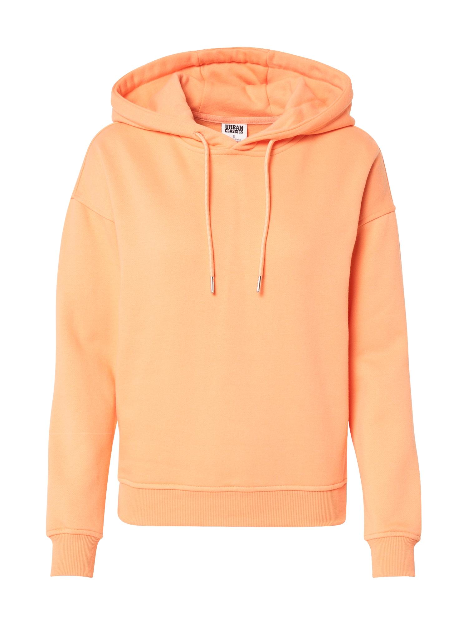 Urban Classics Curvy Megztinis be užsegimo oranžinė
