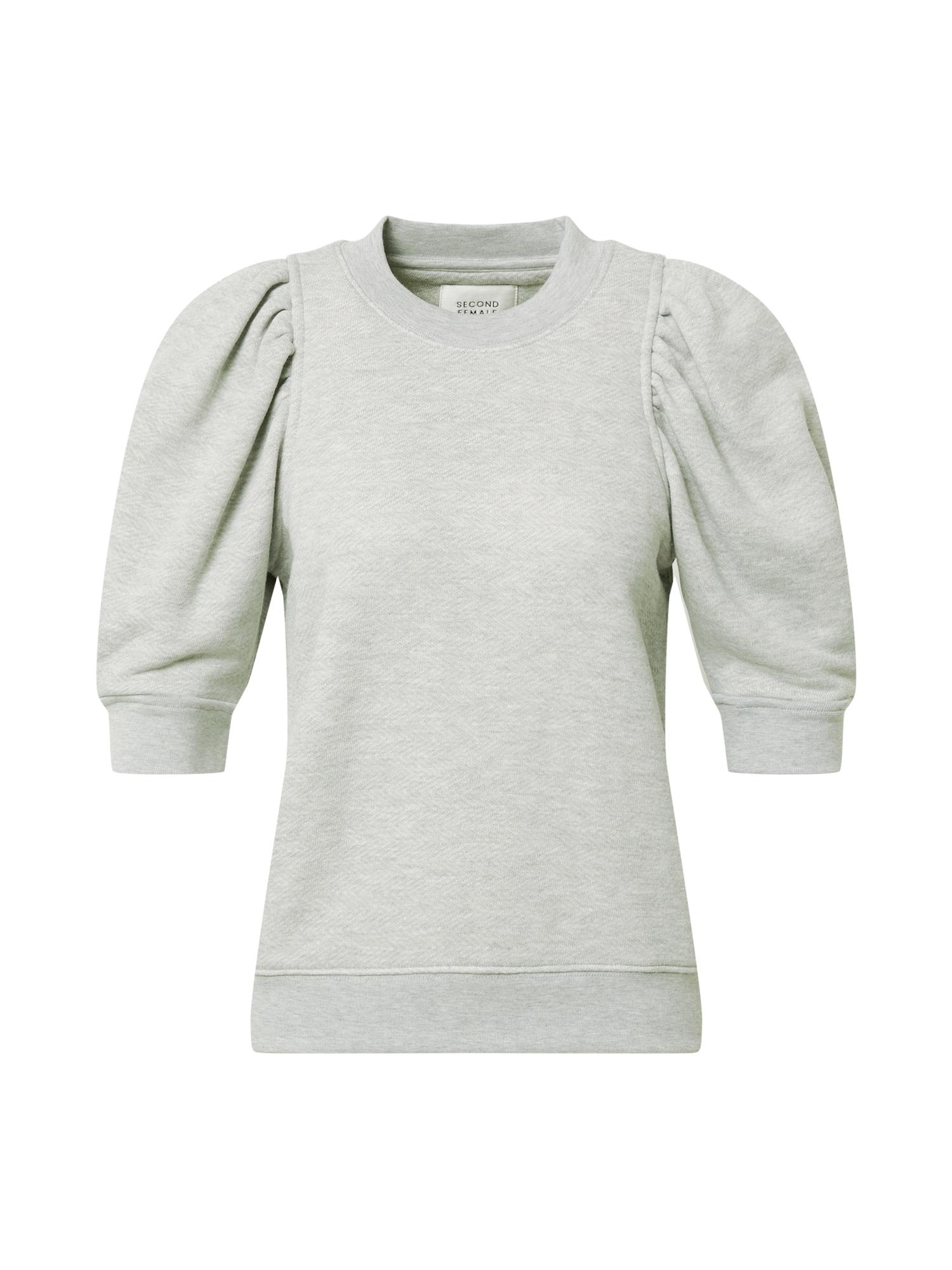 SECOND FEMALE Megztinis pilka