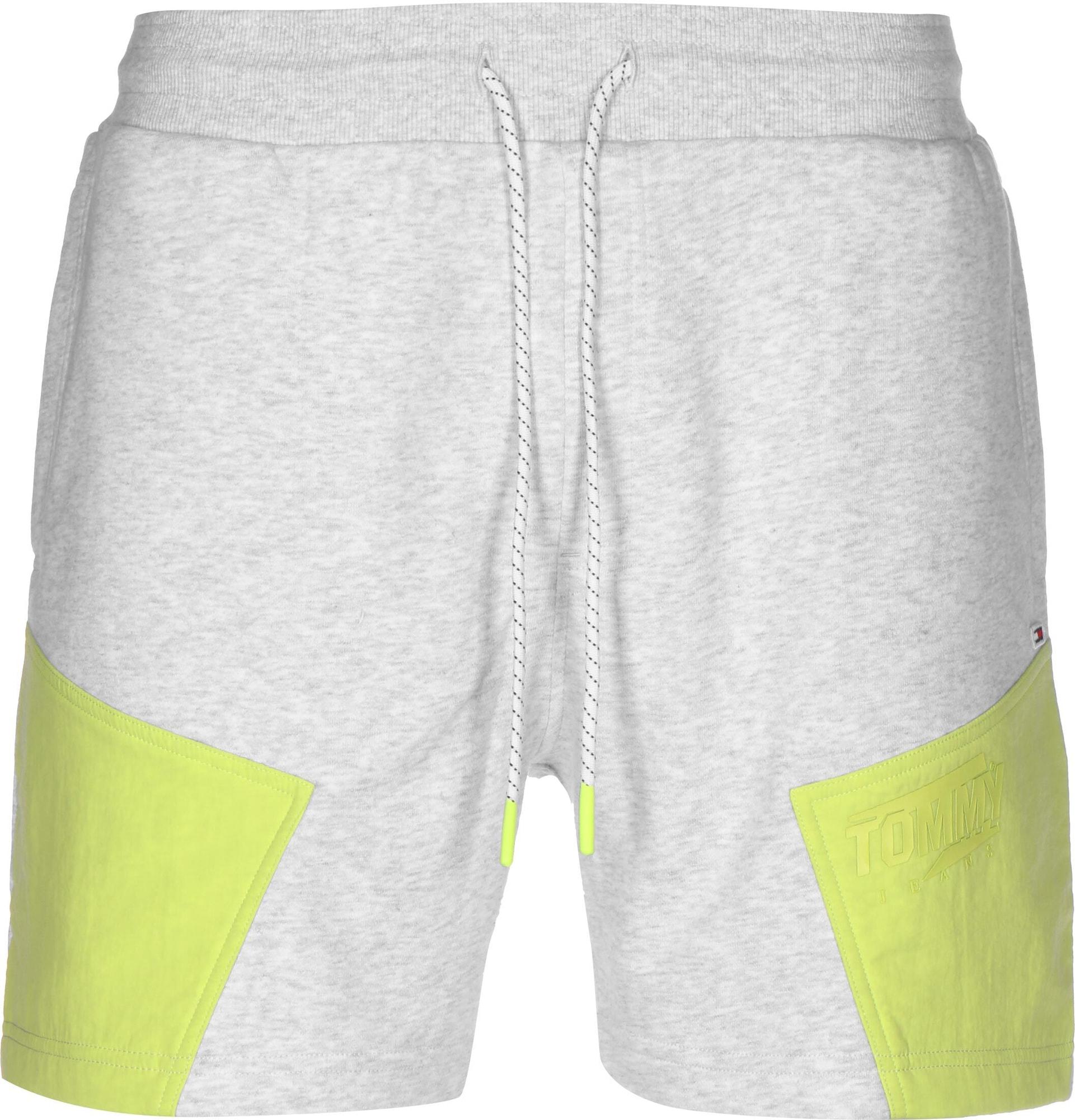 Tommy Jeans Kelnės ' Colorblock ' pilka