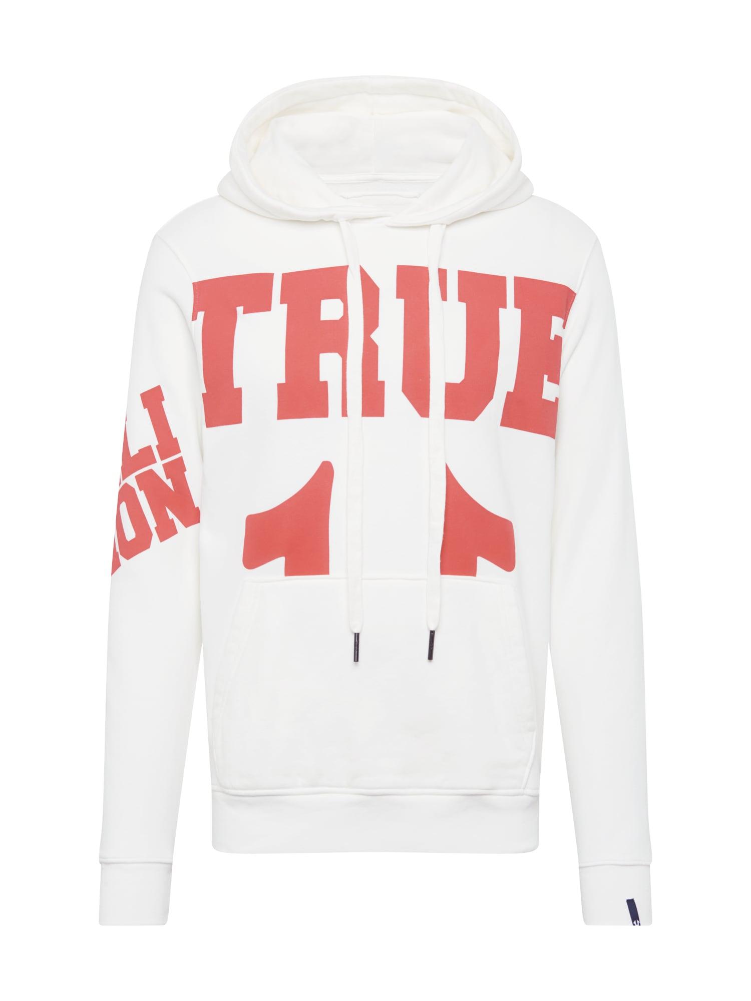 True Religion Mikina  bílá