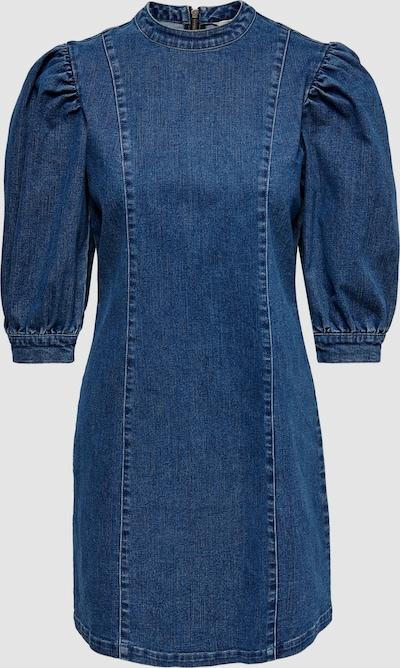Only Dreamy Puff Sleeve Denim Mini Dress