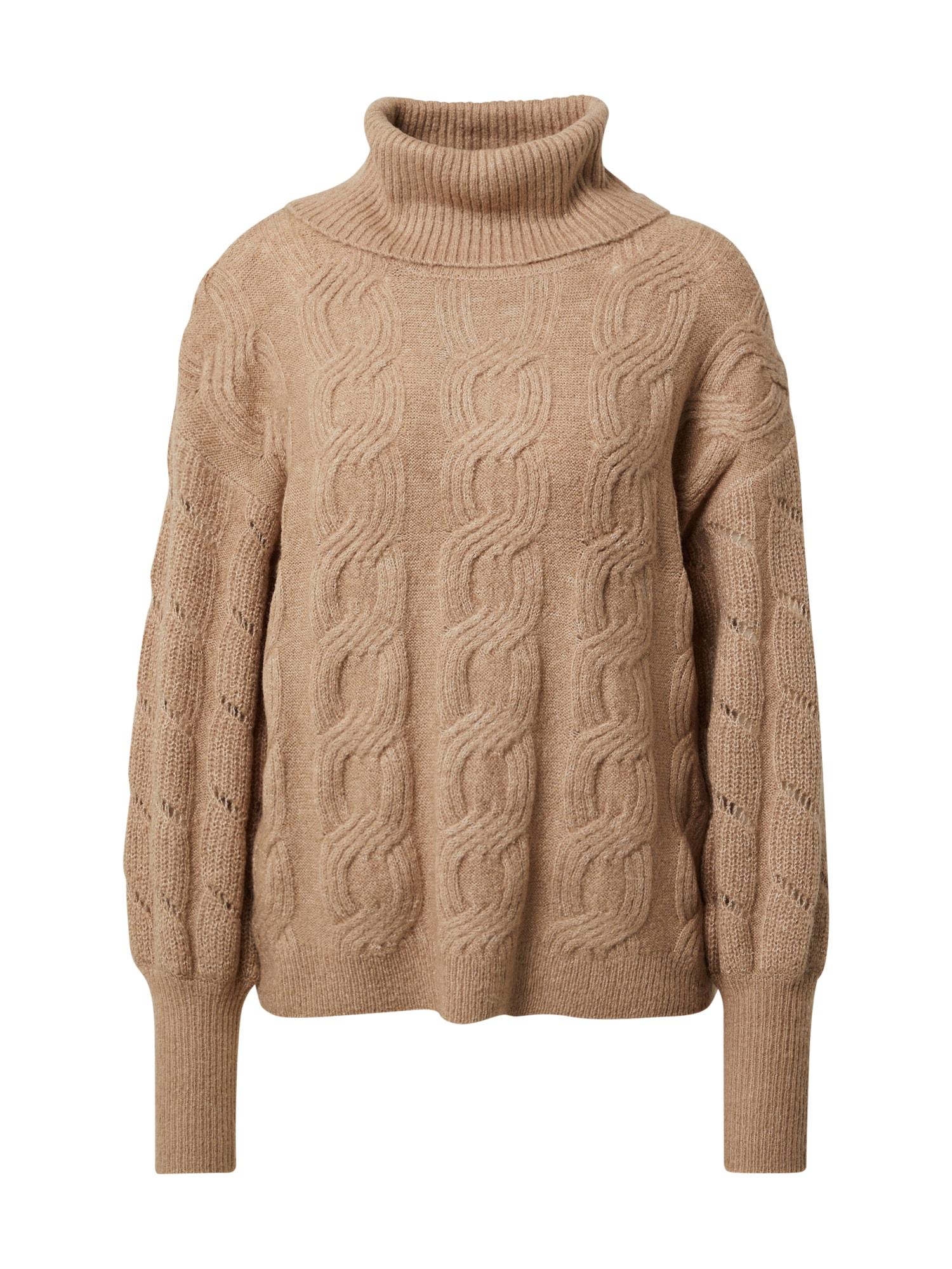 Freequent Megztinis marga smėlio spalva