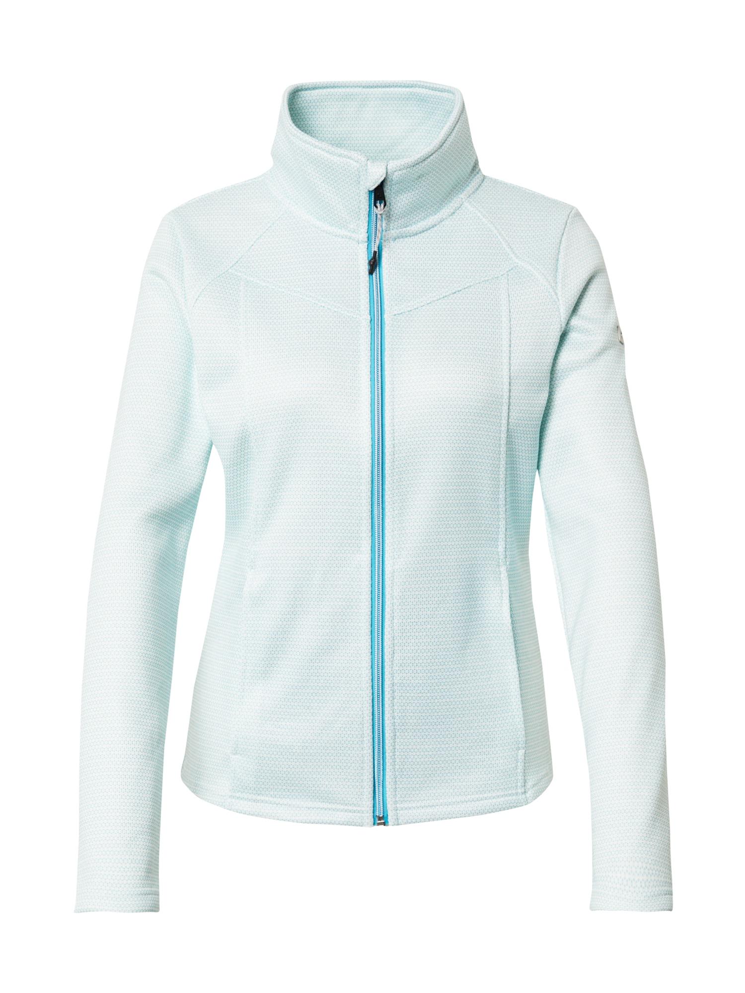KILLTEC Funkcinis flisinis džemperis balta / šviesiai mėlyna