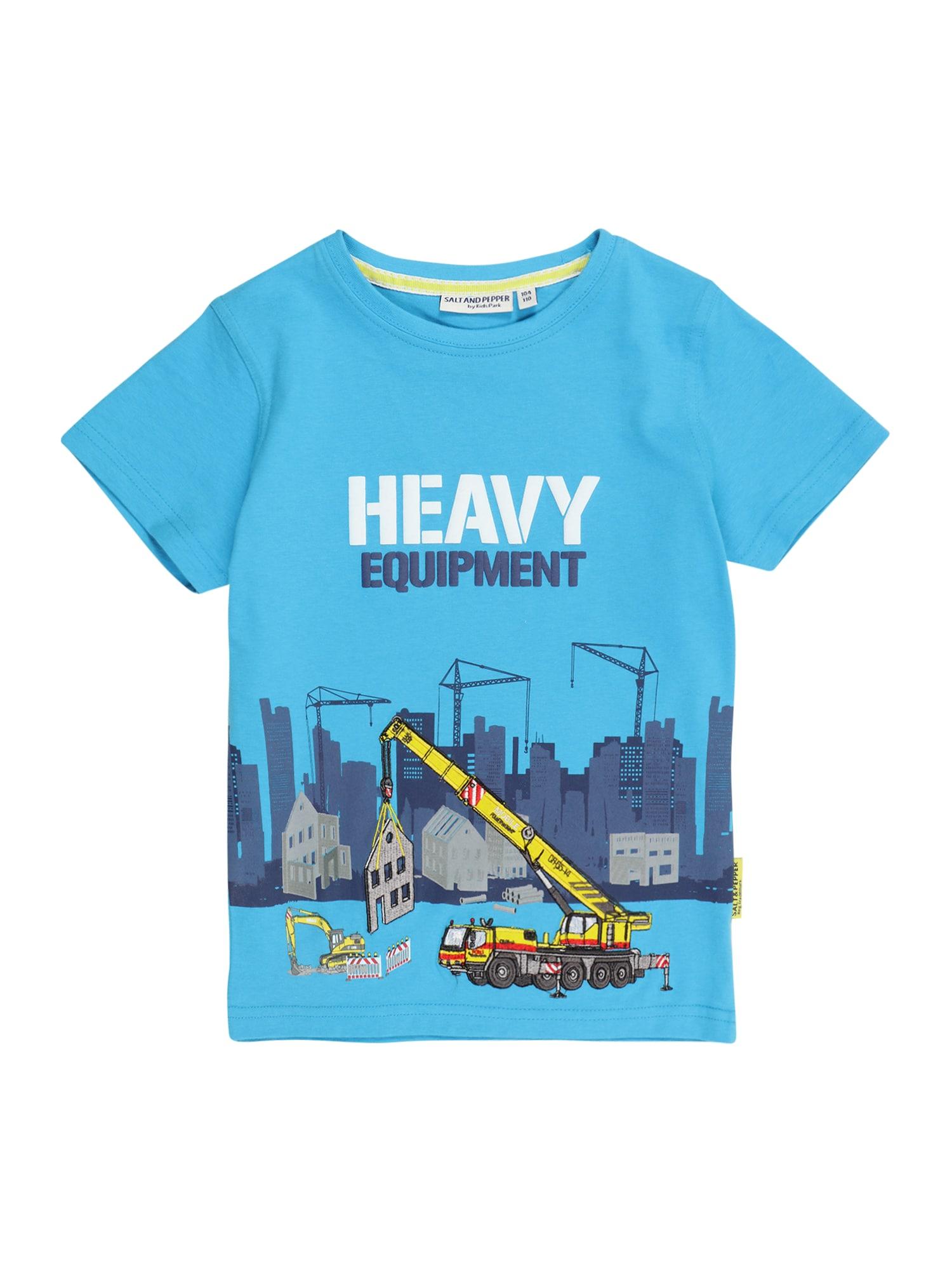 SALT AND PEPPER Marškinėliai šviesiai mėlyna / mišrios spalvos
