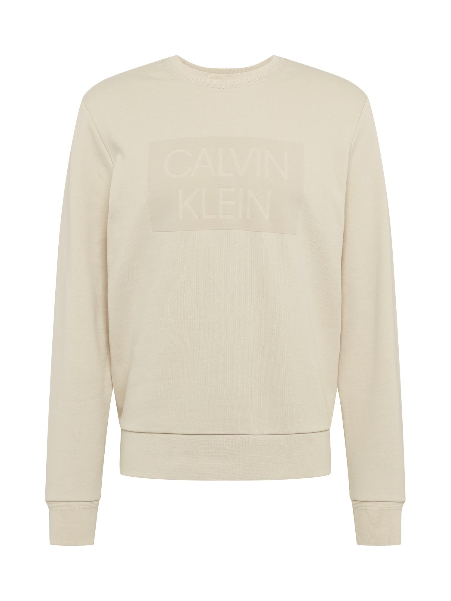 Calvin Klein Megztinis be užsegimo smėlio / glaisto spalva
