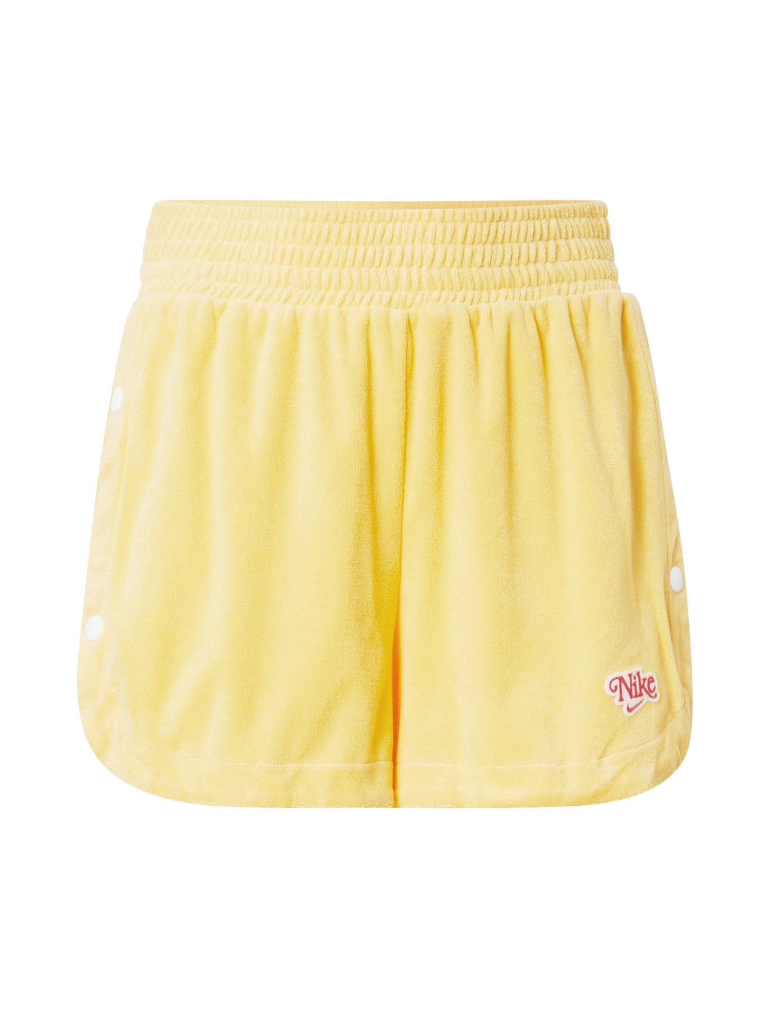 NIKE Kalhoty  žlutá