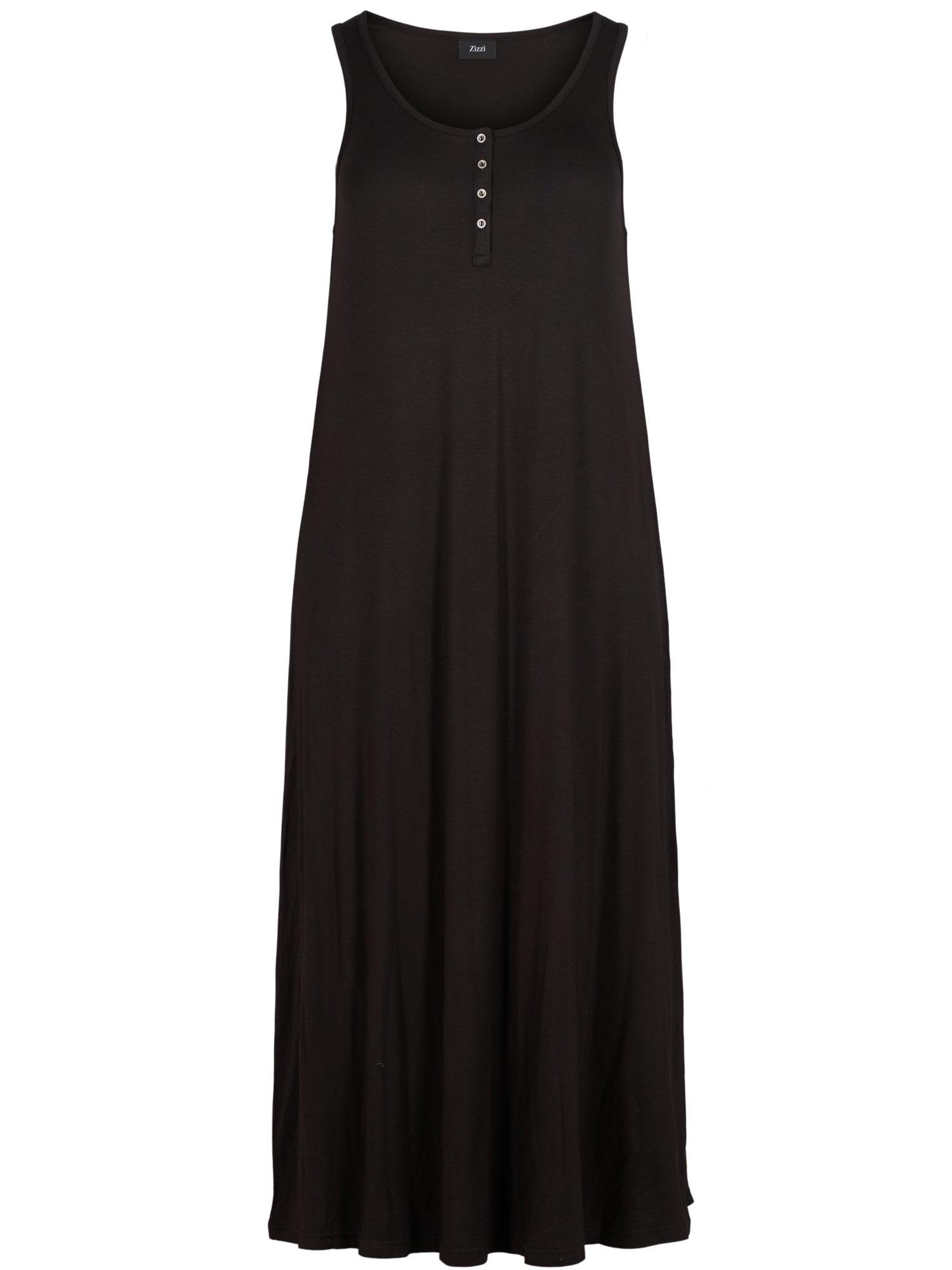 Zizzi Letní šaty 'Vfreja'  černá