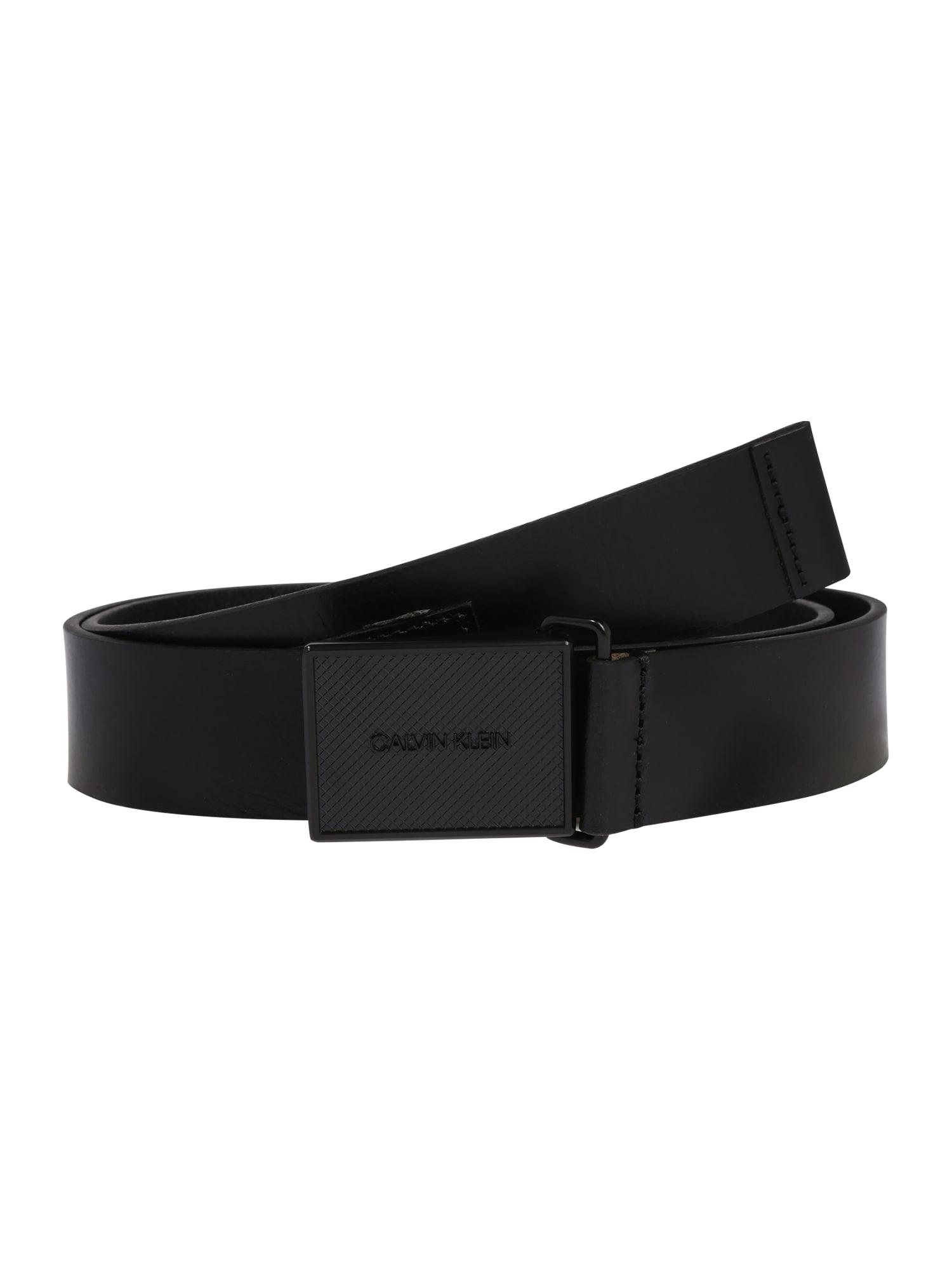 Calvin Klein Opasek  černá