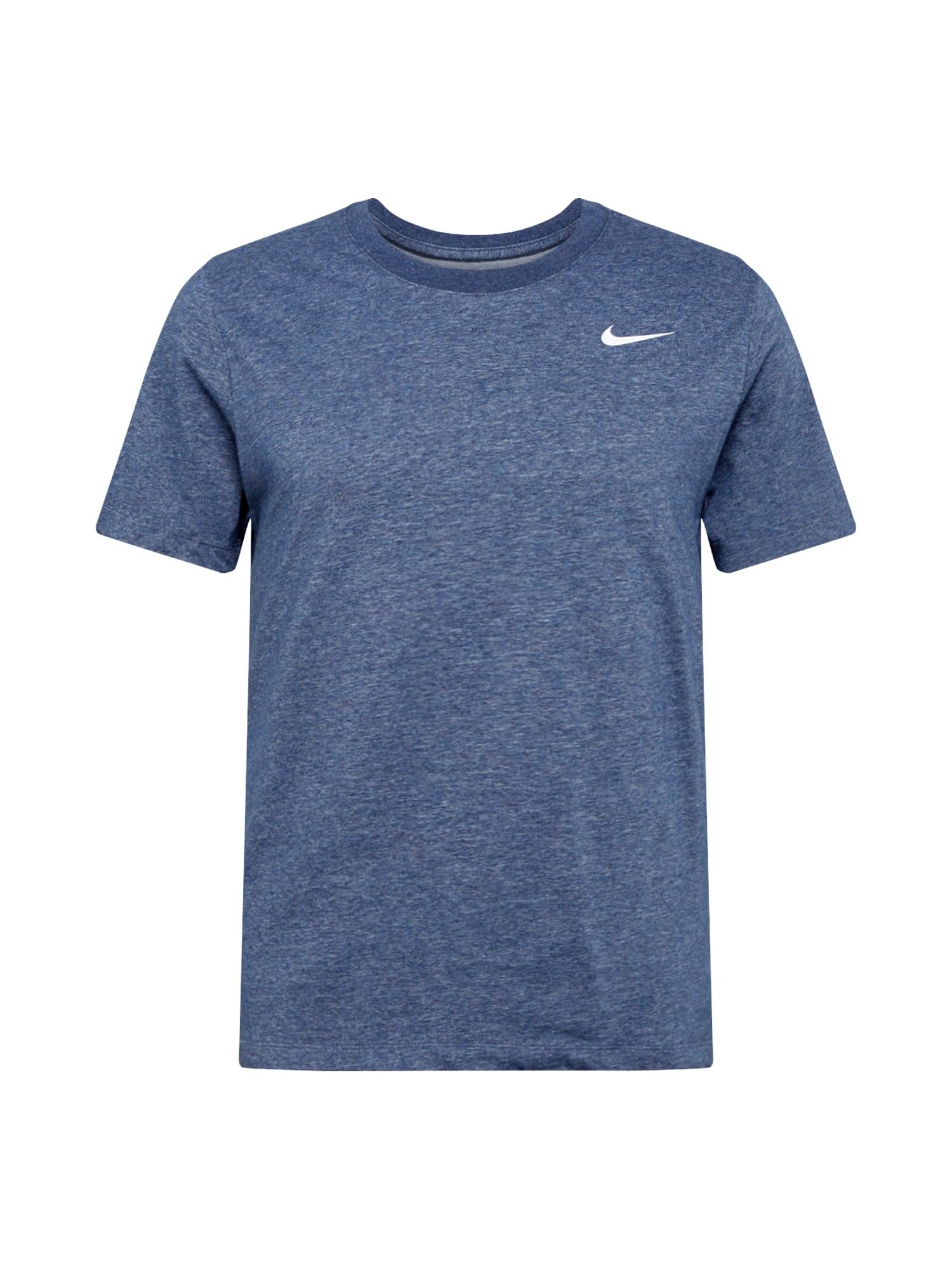 NIKE Sportiniai marškinėliai margai mėlyna
