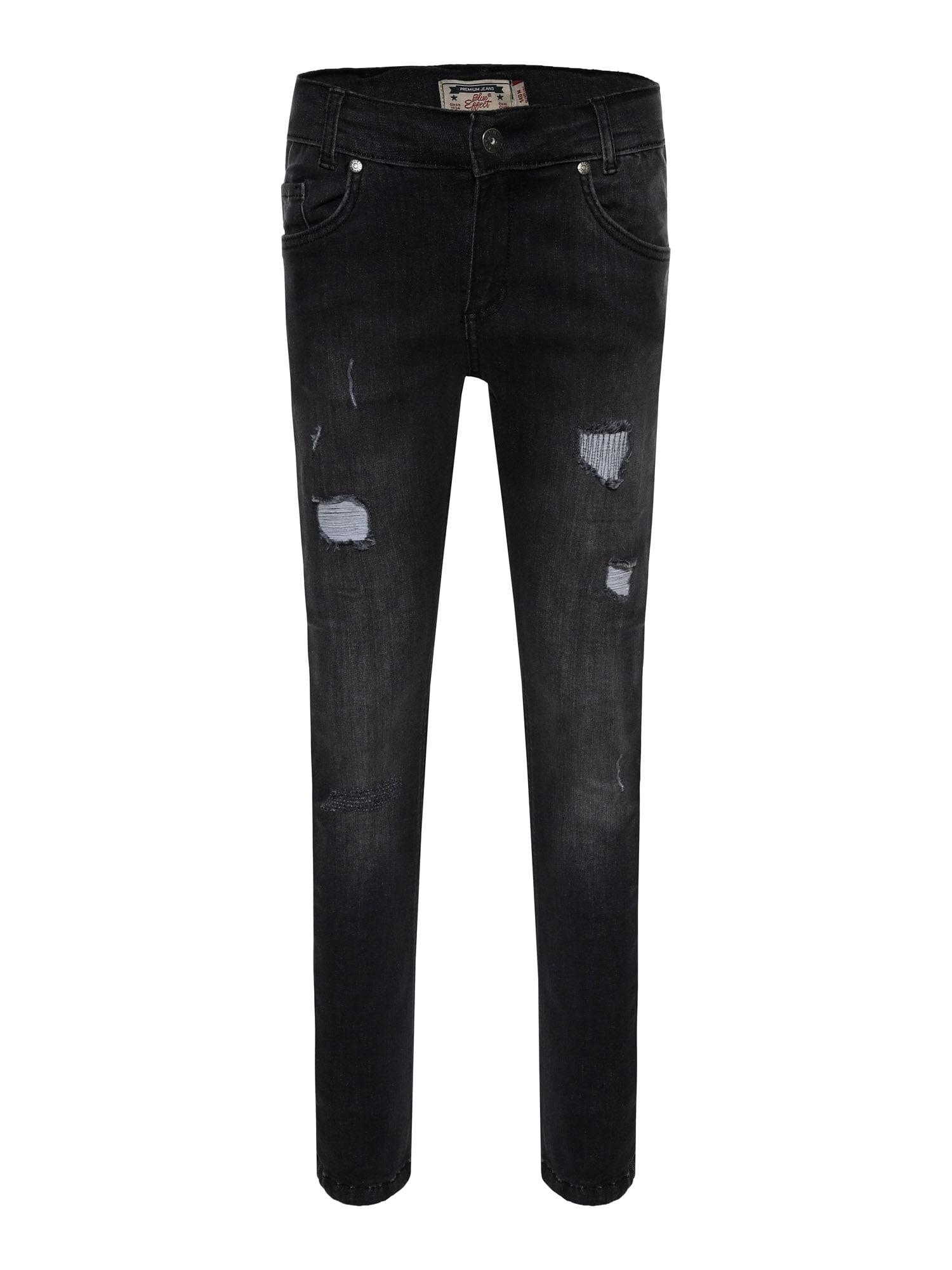 BLUE EFFECT Džinsai juodo džinso spalva