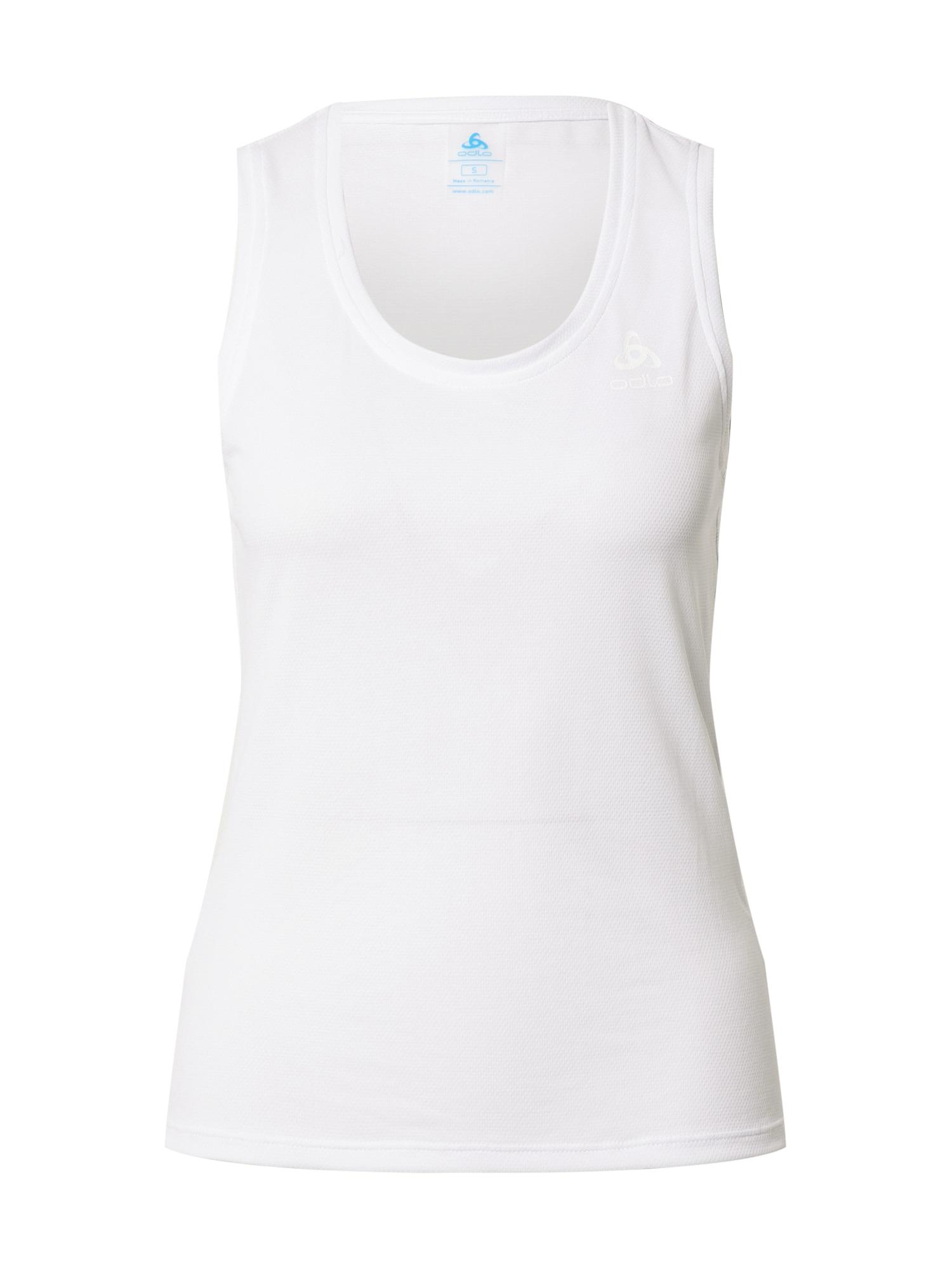 ODLO Sportiniai marškinėliai be rankovių balta
