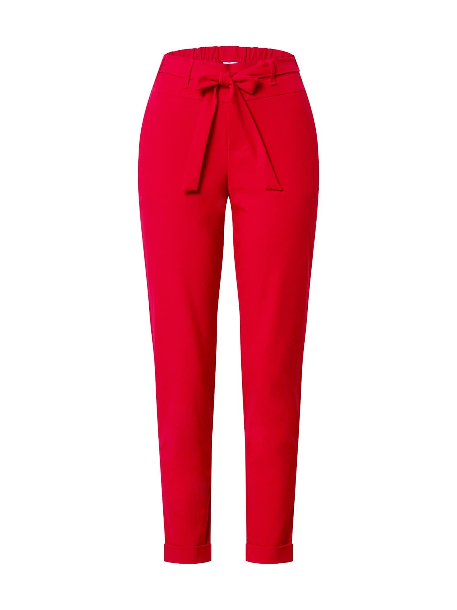 Kaffe Kalhoty  červená