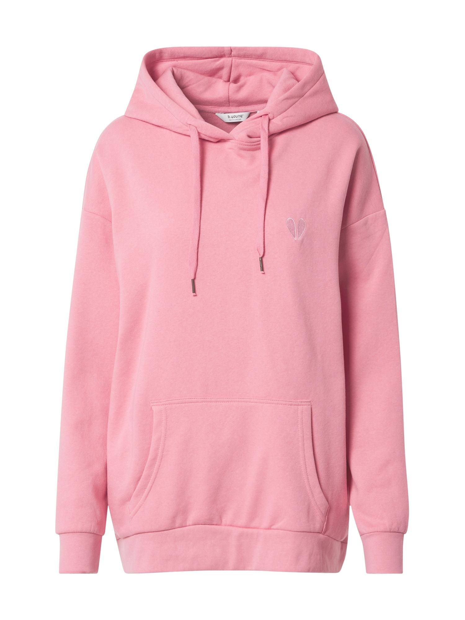 b.young Megztinis be užsegimo ryškiai rožinė spalva