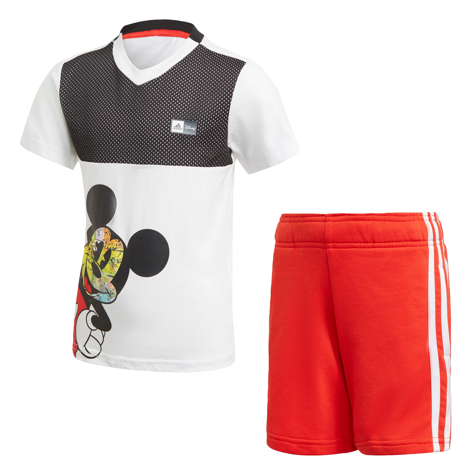 ADIDAS PERFORMANCE Sportinis kostiumas balta / juoda / raudona / mišrios spalvos