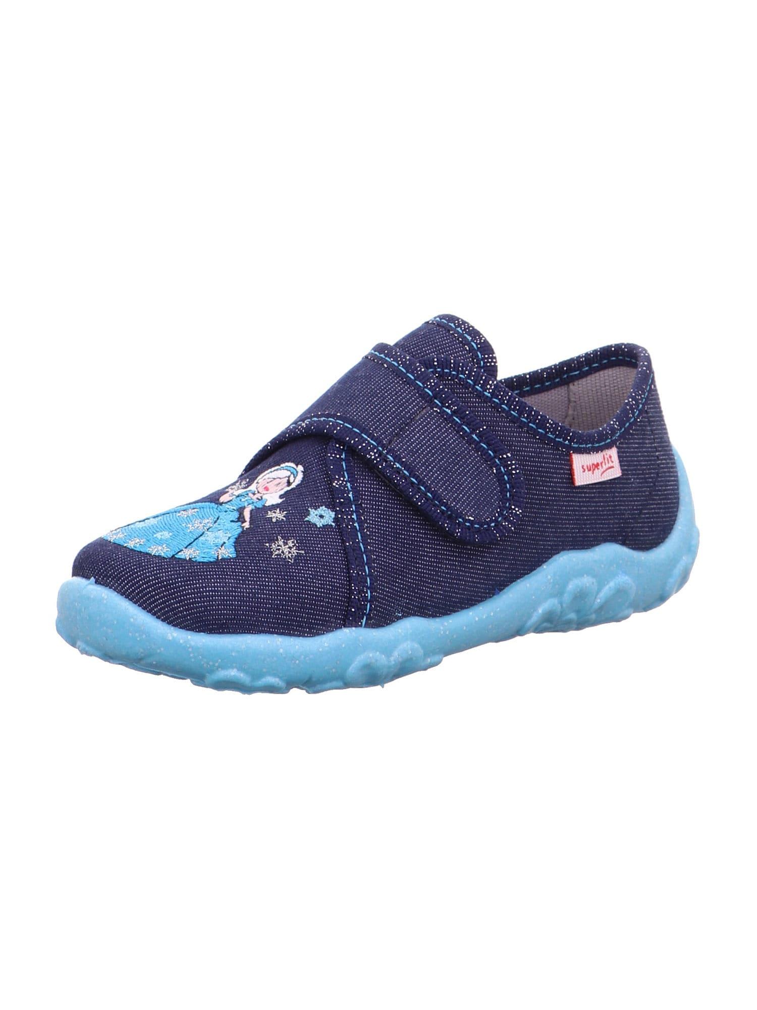 SUPERFIT Pantofle 'BONNY'  noční modrá / světlemodrá / bílá