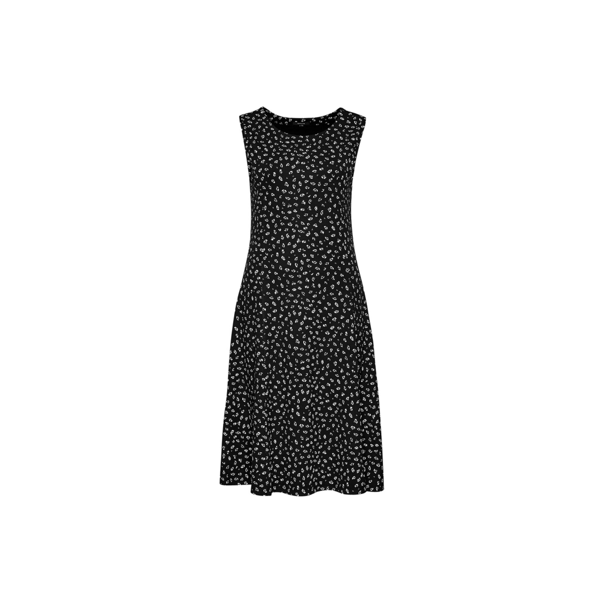 OPUS Šaty  bílá / černá