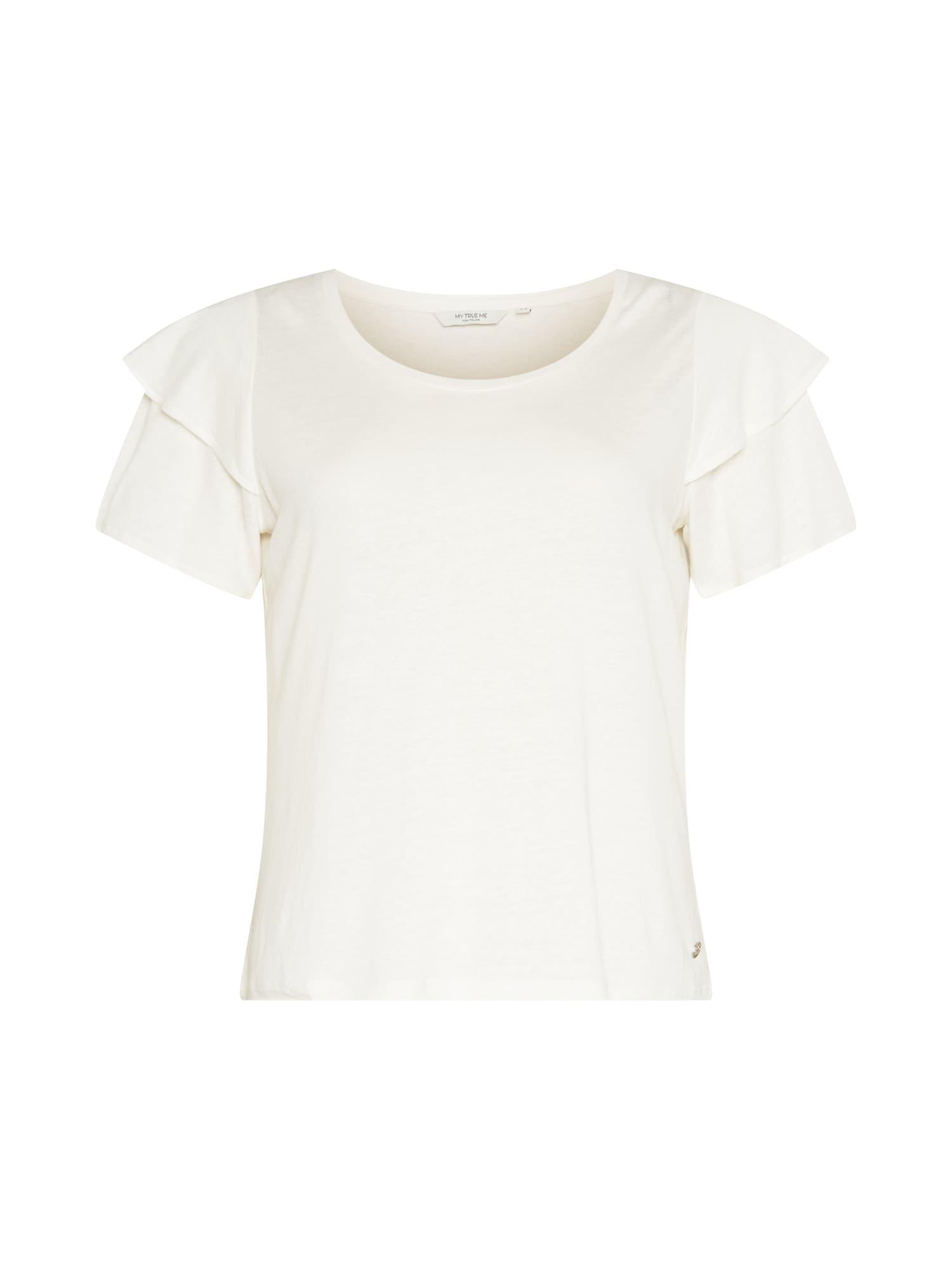 MY TRUE ME Marškinėliai balta