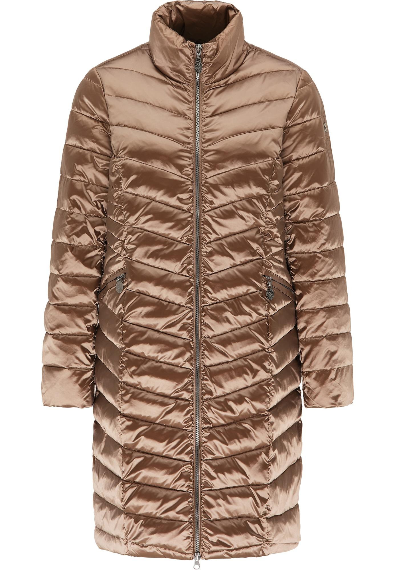 DreiMaster Klassik Demisezoninis paltas ruda
