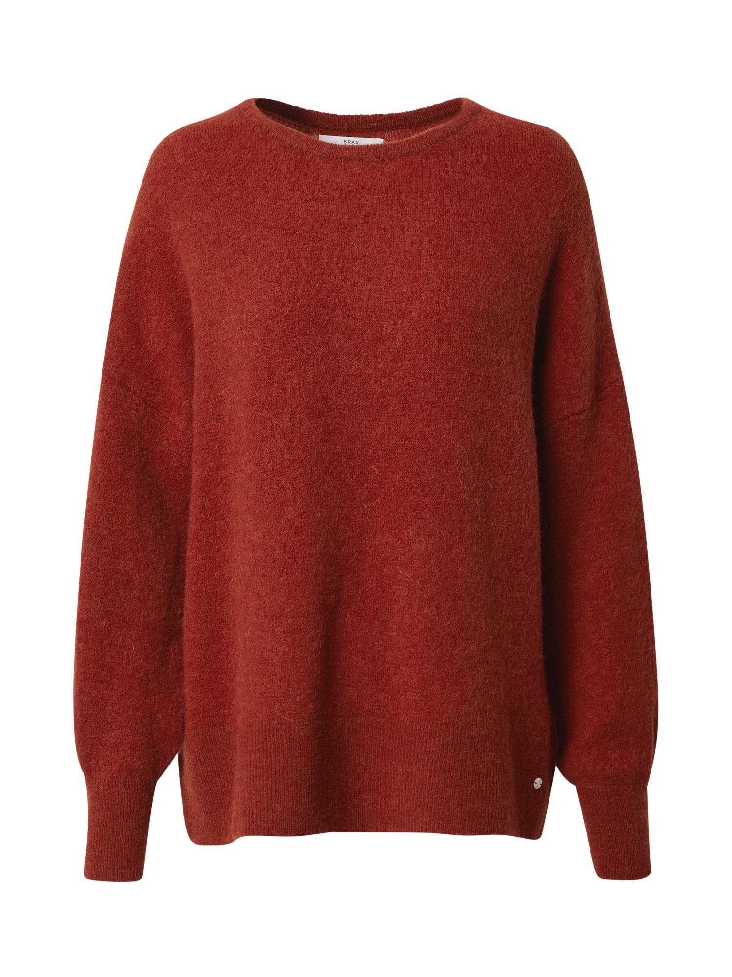BRAX Megztinis 'Lana' karmino raudona