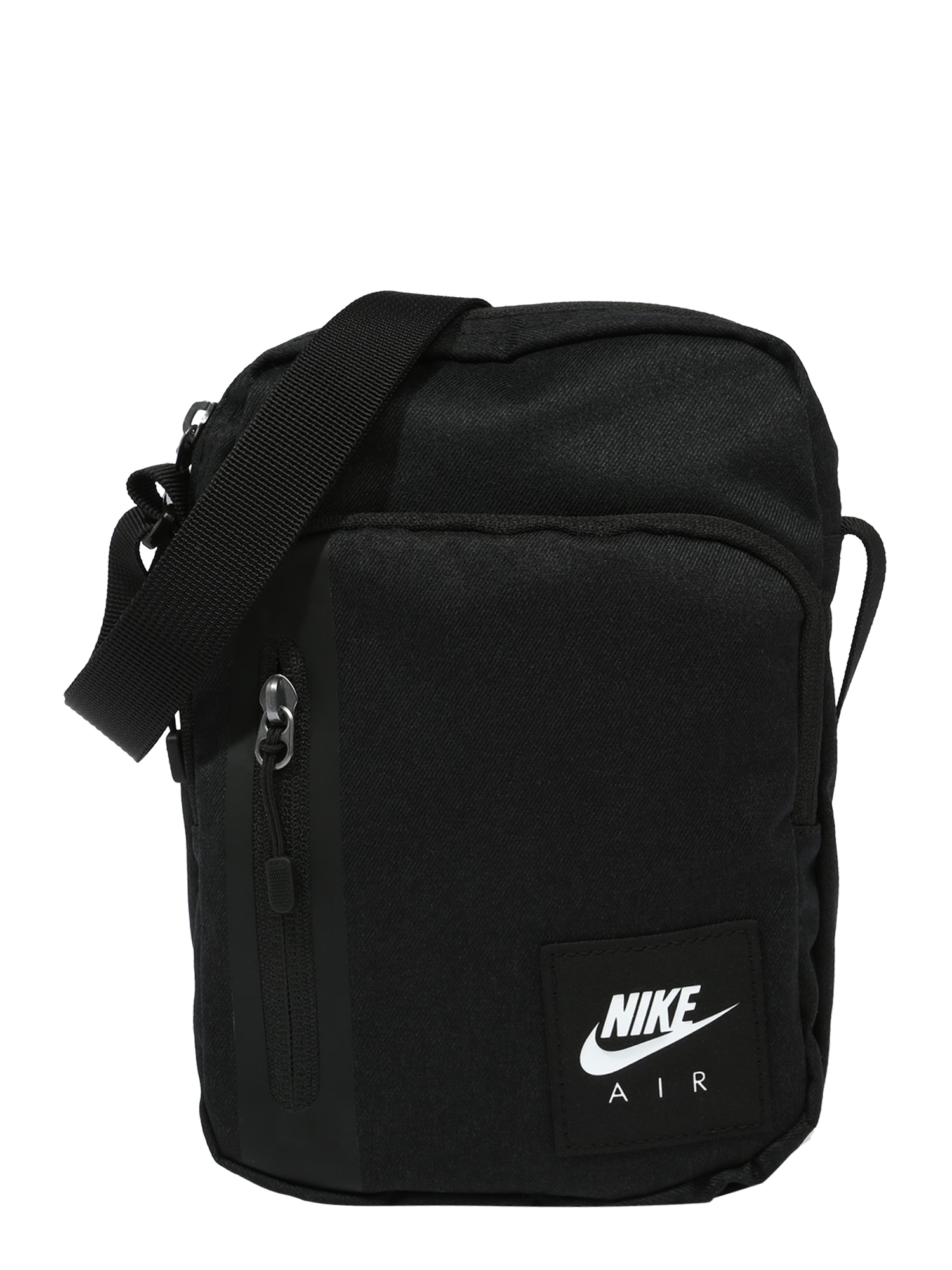 Nike Sportswear Rankinė su ilgu dirželiu juoda / balta