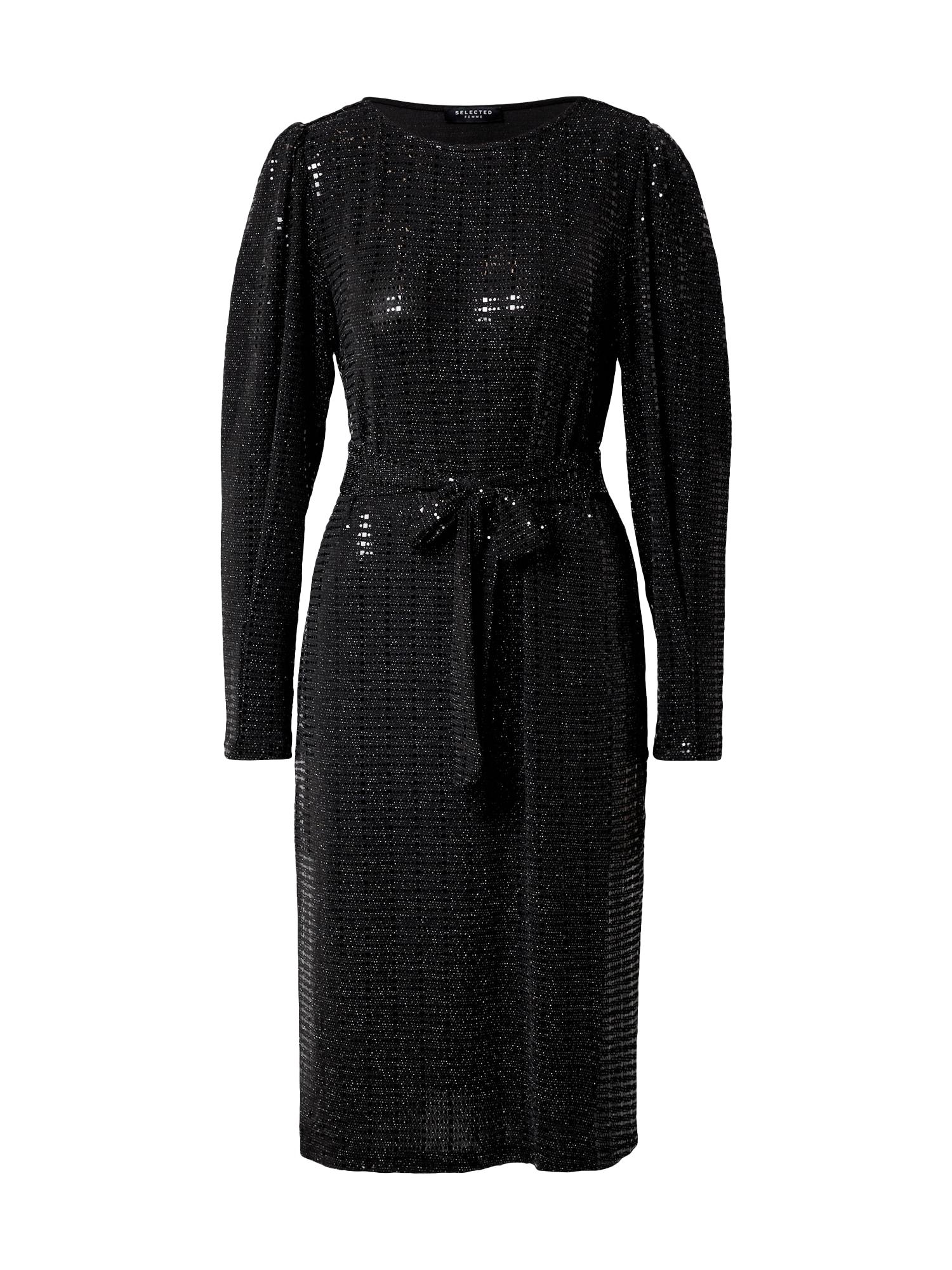 SELECTED FEMME Společenské šaty 'Sandra'  černá