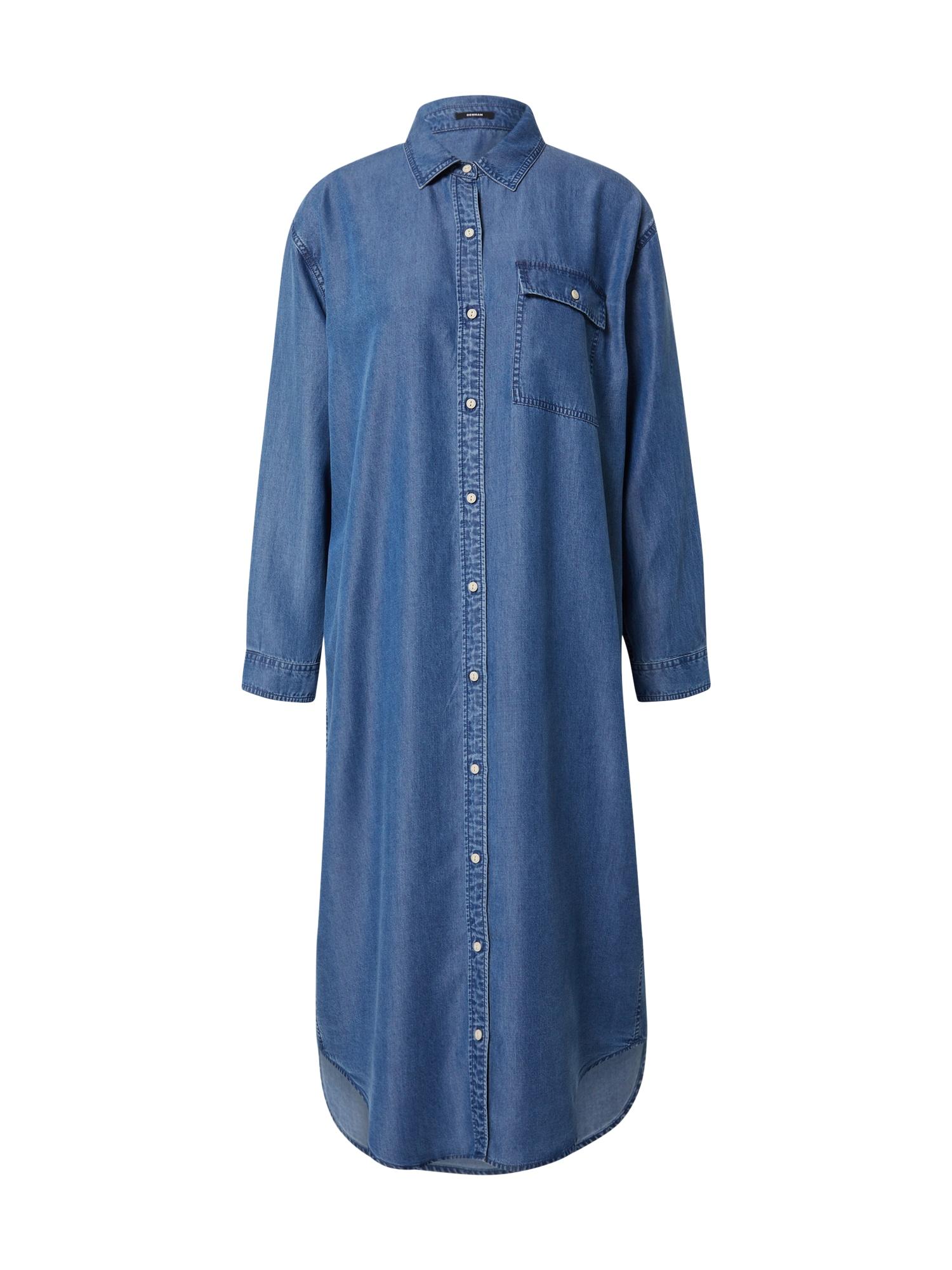 DENHAM Palaidinės tipo suknelė mėlyna